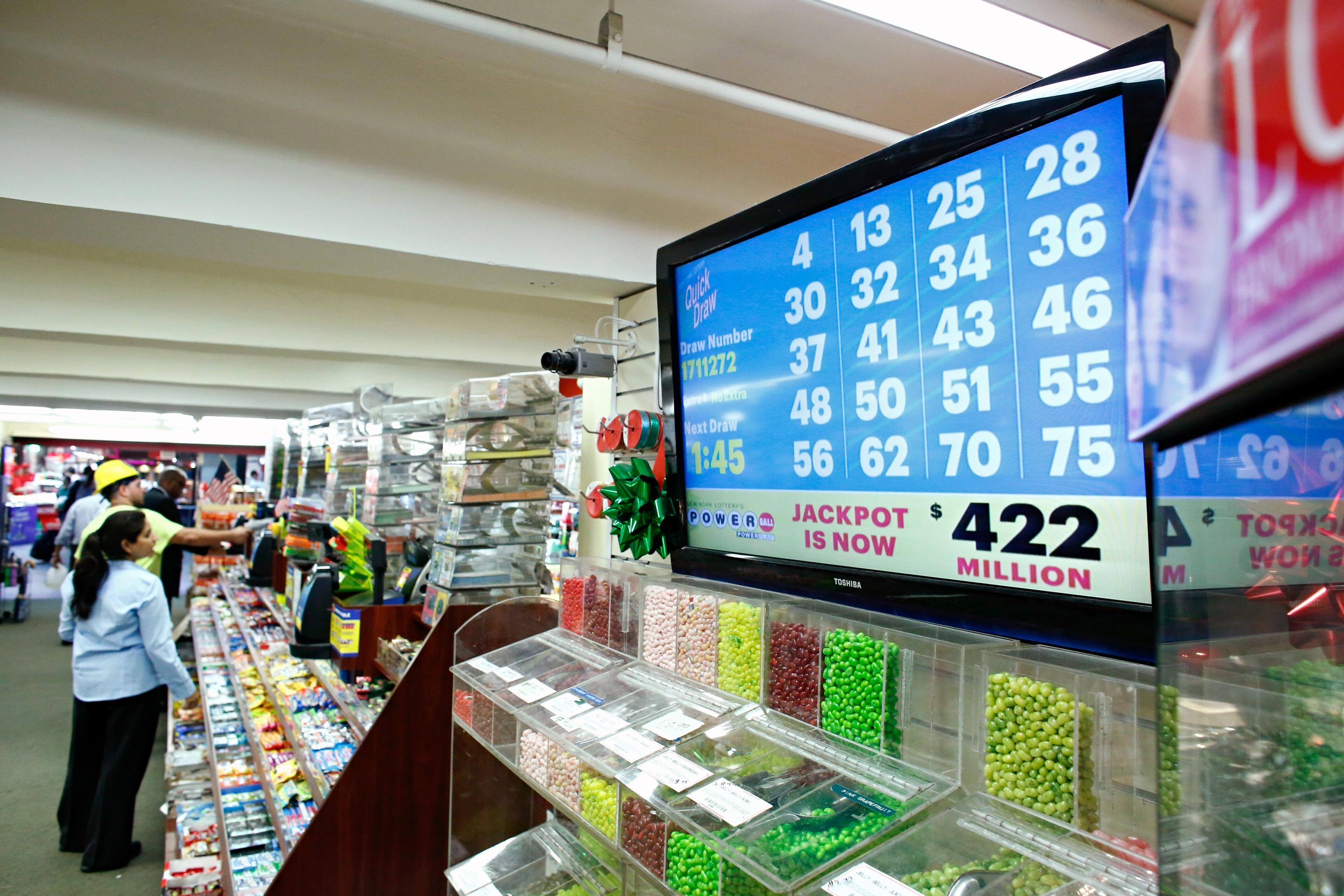 Powerball Lottery Reaches $442 Million