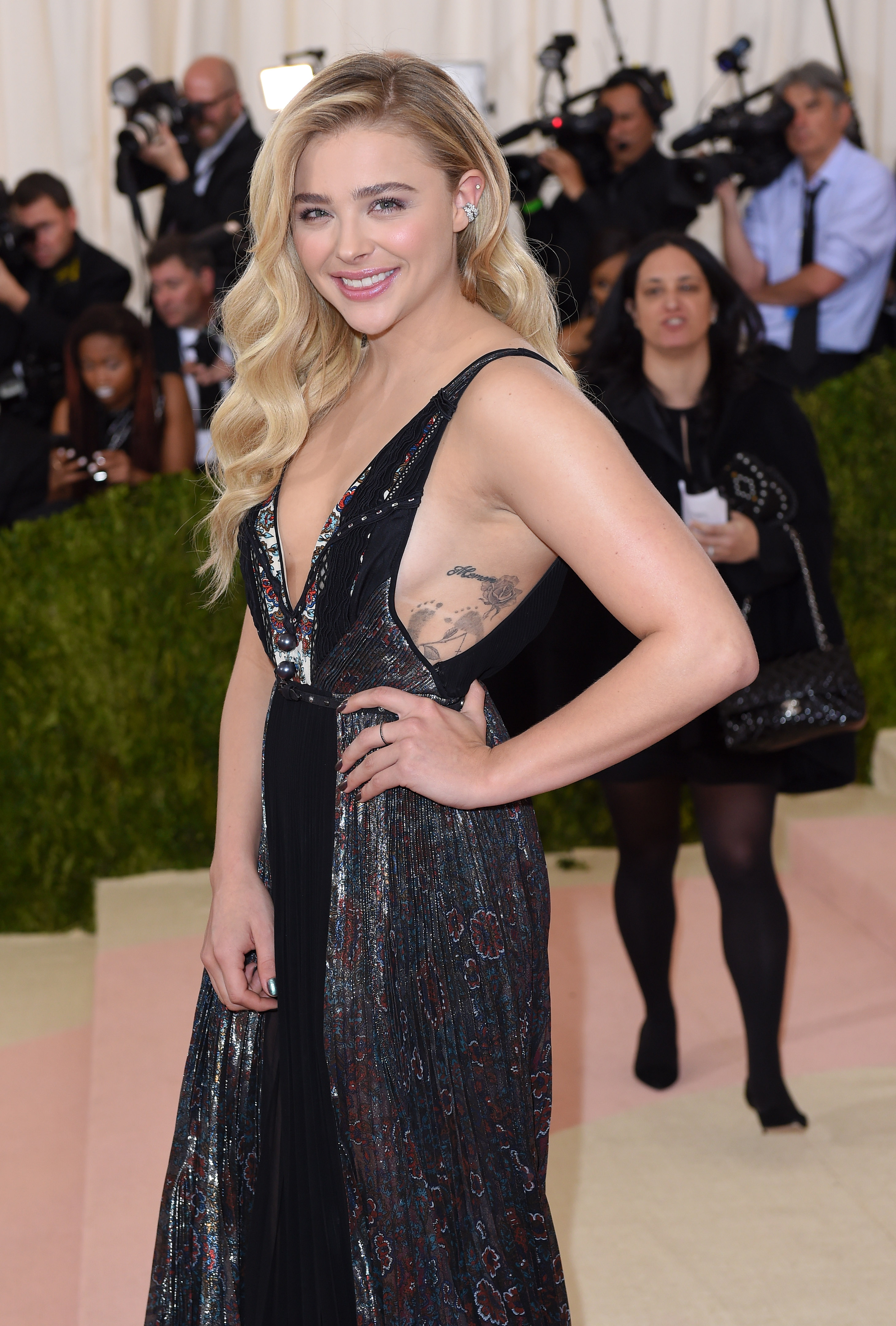 The look Quynh created for Chloë Grace Moretz at last year's Met Gala.