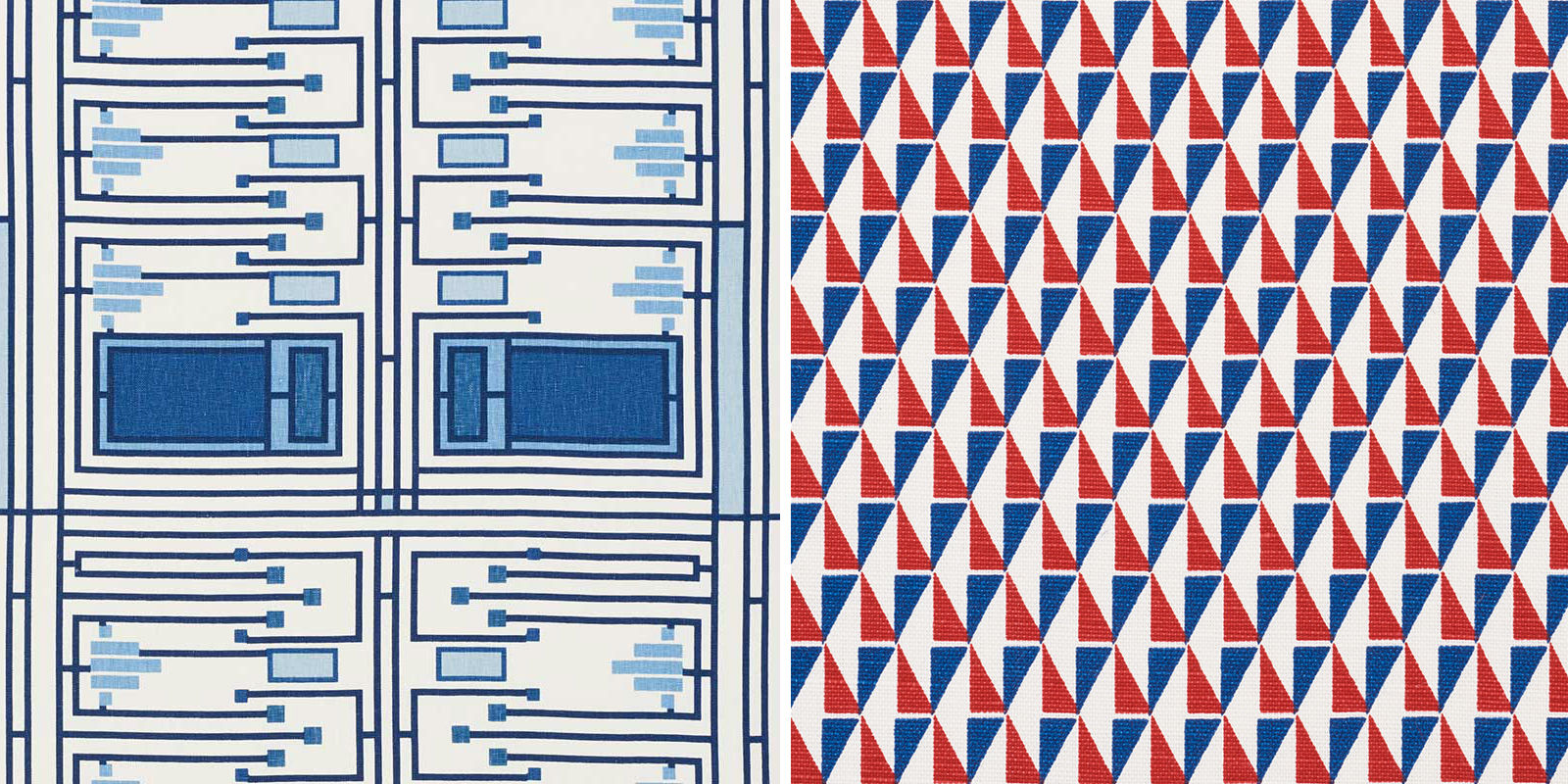Frank Lloyd Wright's textile designs from 1955 available to buy now