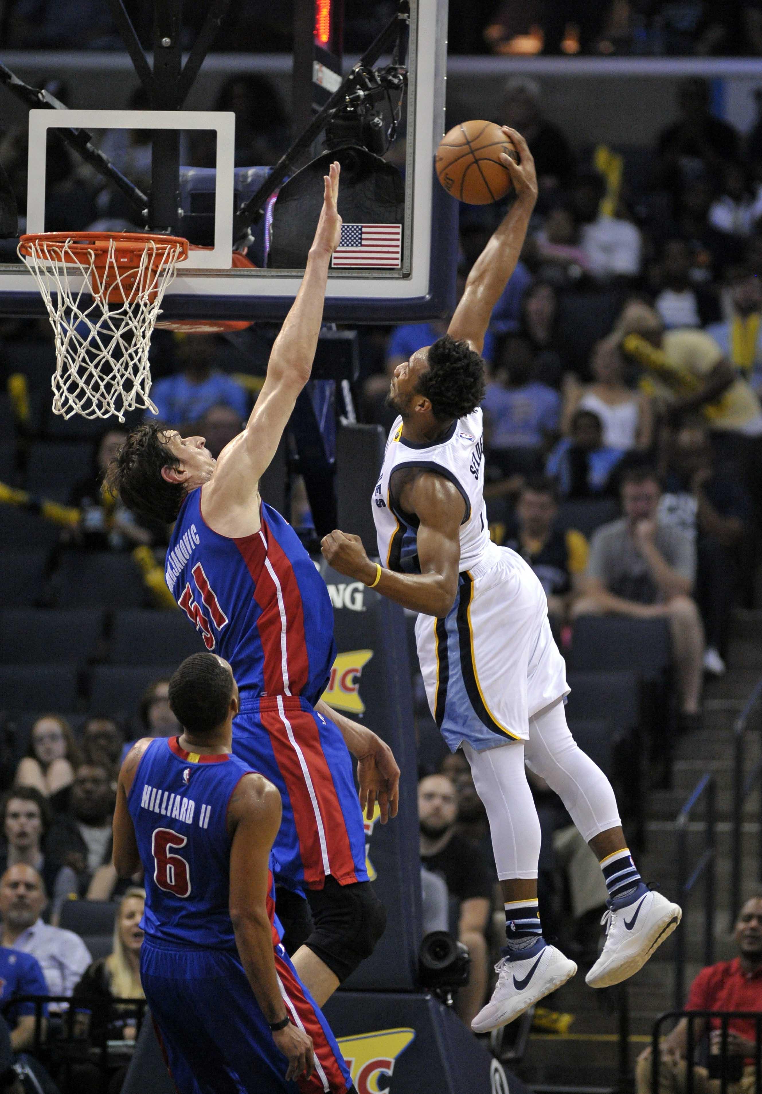 NBA: Detroit Pistons at Memphis Grizzlies