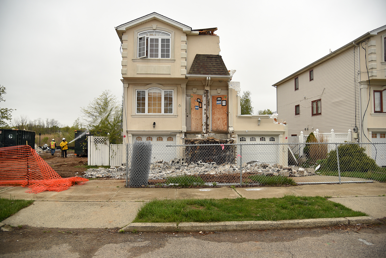 Hurricane Sandy Oakwood Beach Staten Island