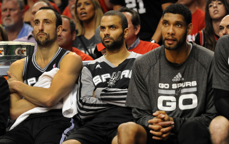 San Antonio Spurs v Portland Trail Blazers - Game Four
