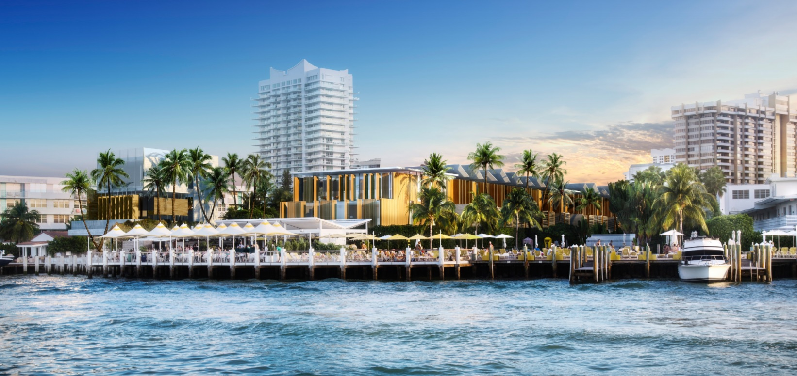 Rendering of the new Standard Miami Beach