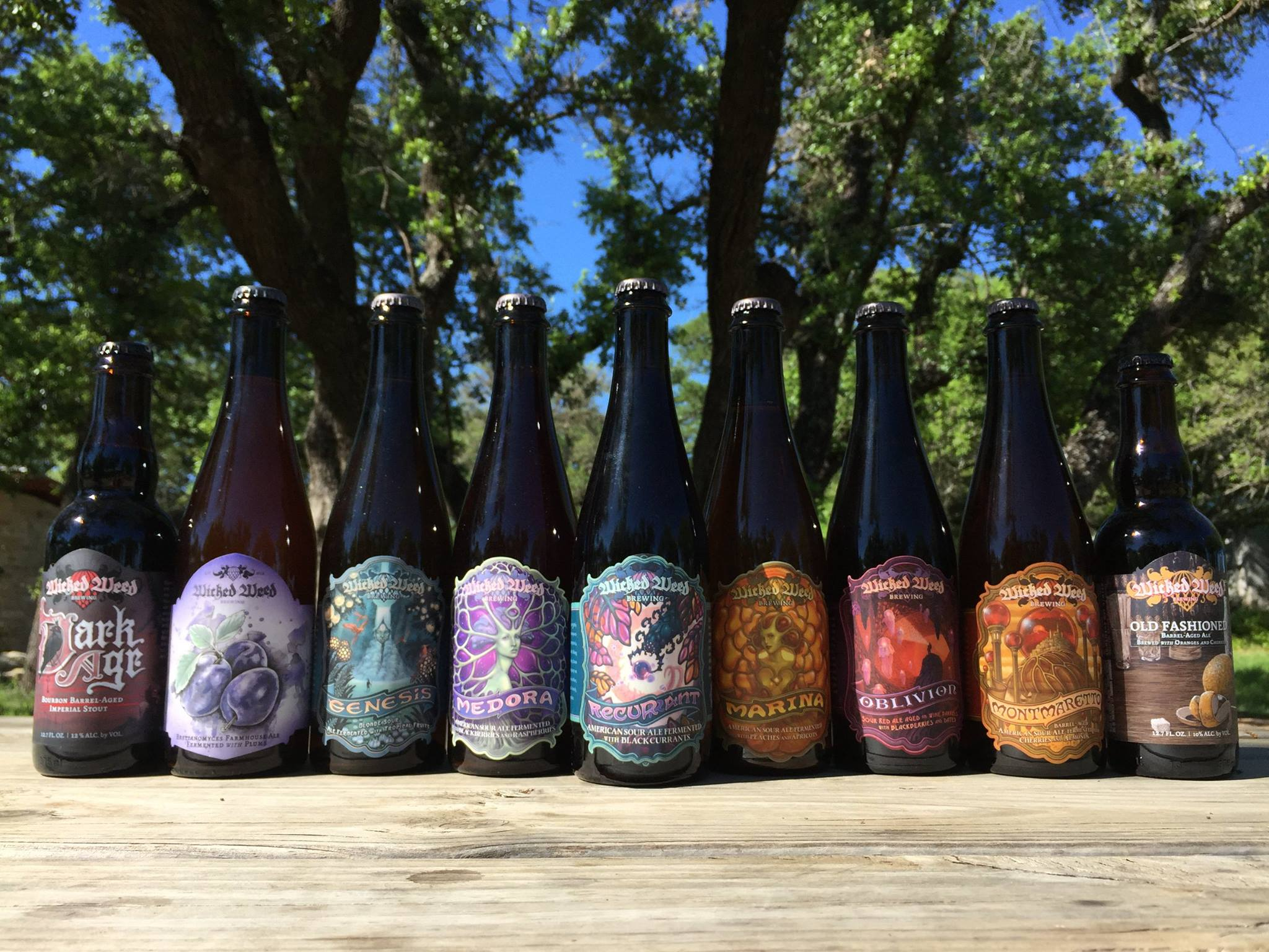 Wicked Weed at Jester King Brewery