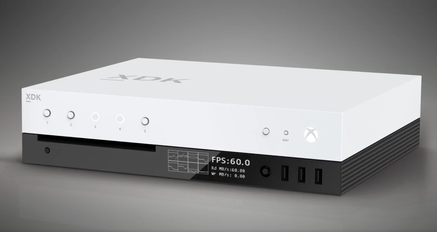 Microsoft, give consumers the FPS counter on the front of the Xbox Scorpio too