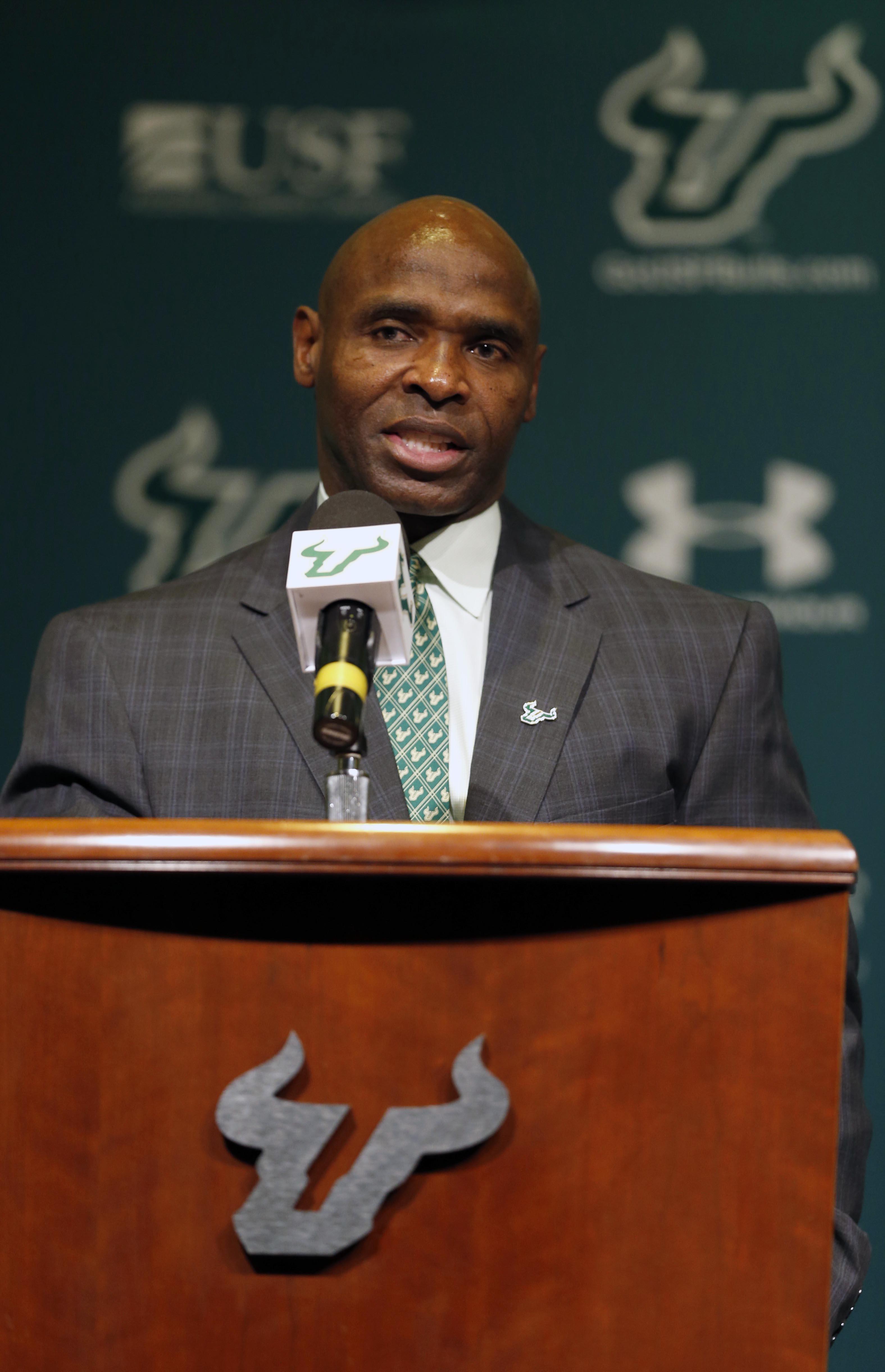 NCAA Football: South Florida-Charlie Strong Press Conference