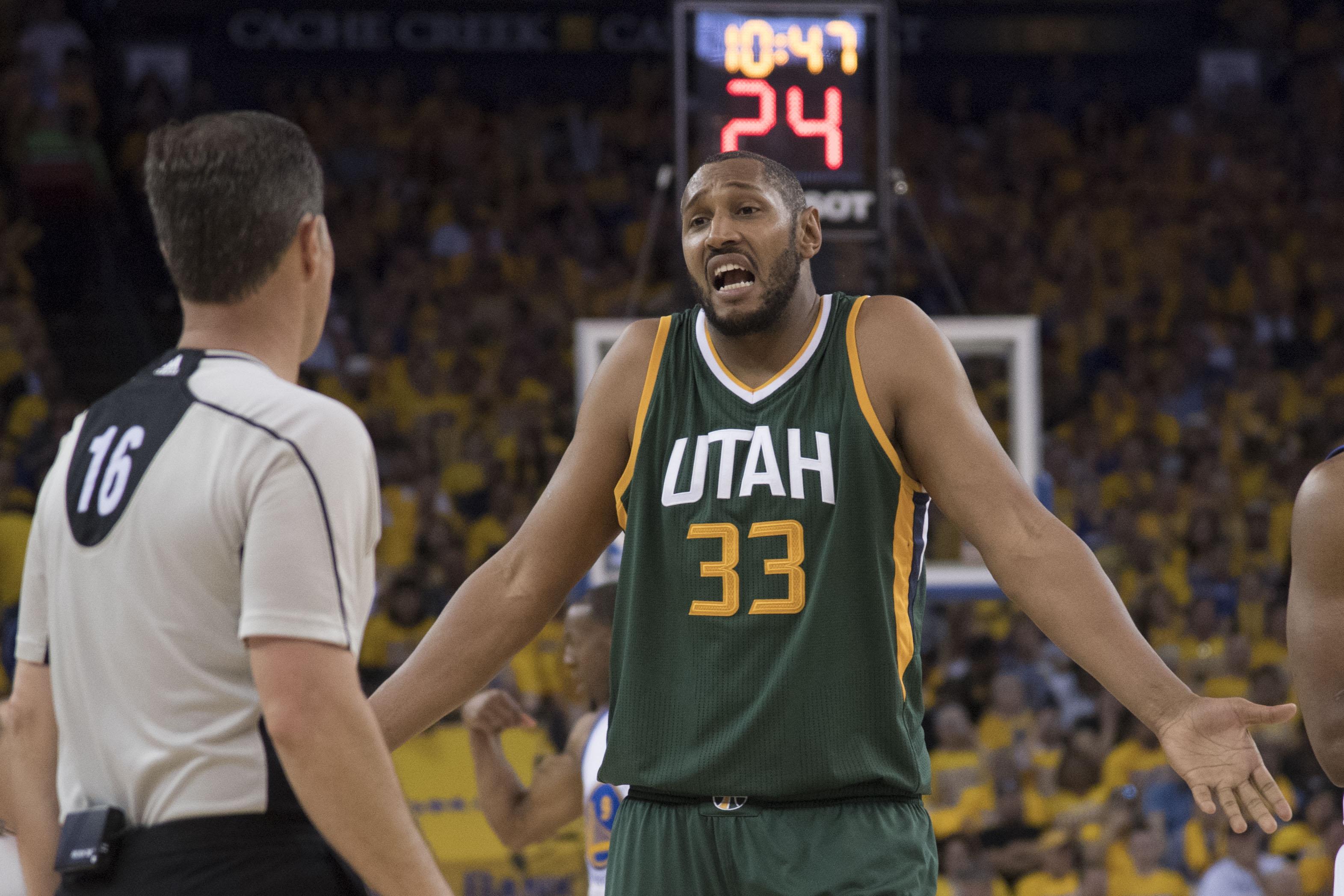 NBA: Playoffs-Utah Jazz at Golden State Warriors