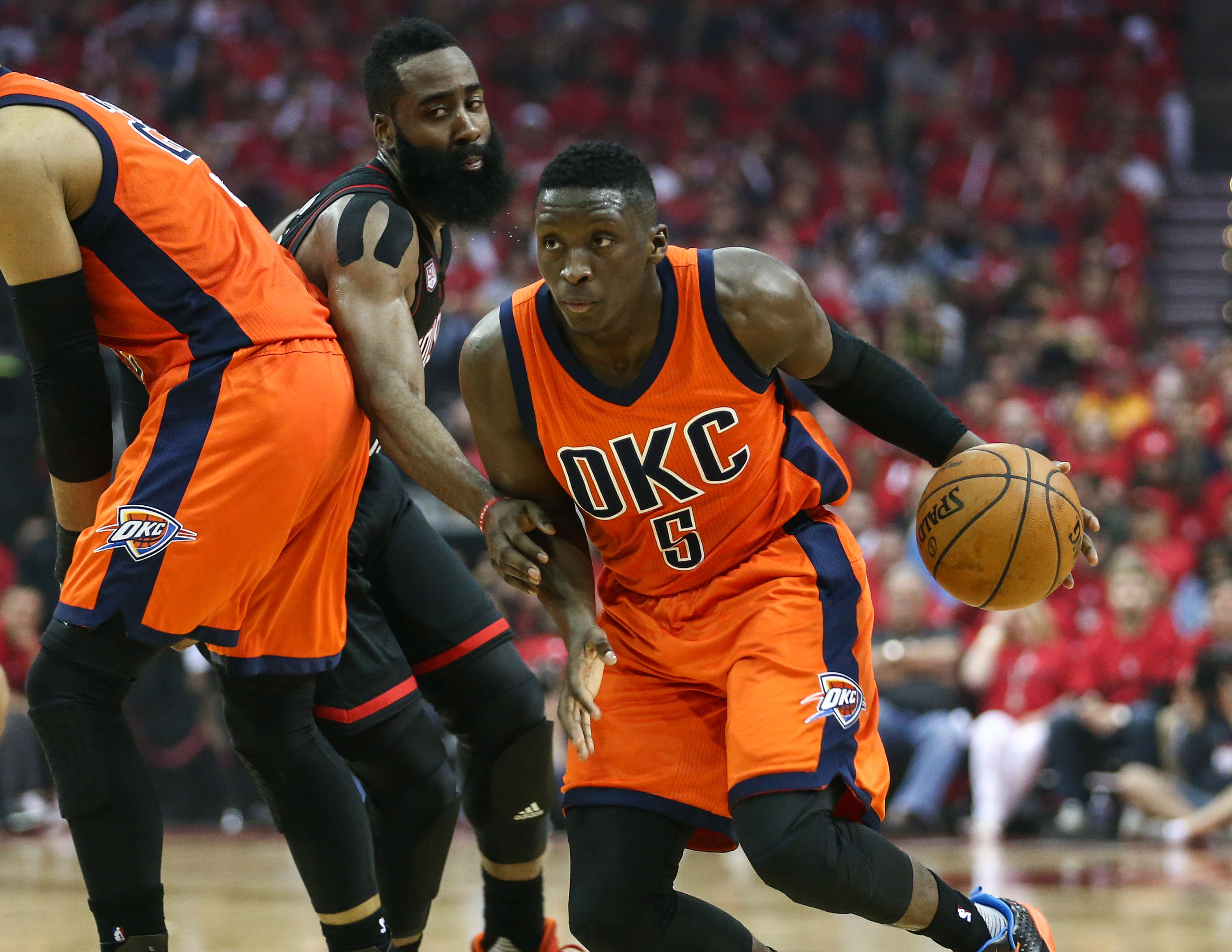 2592b1c9991d Oklahoma City Thunder season player grade Victor Oladipo  following the  playoffs Oladipo looks to start anew - Welcome to Loud City