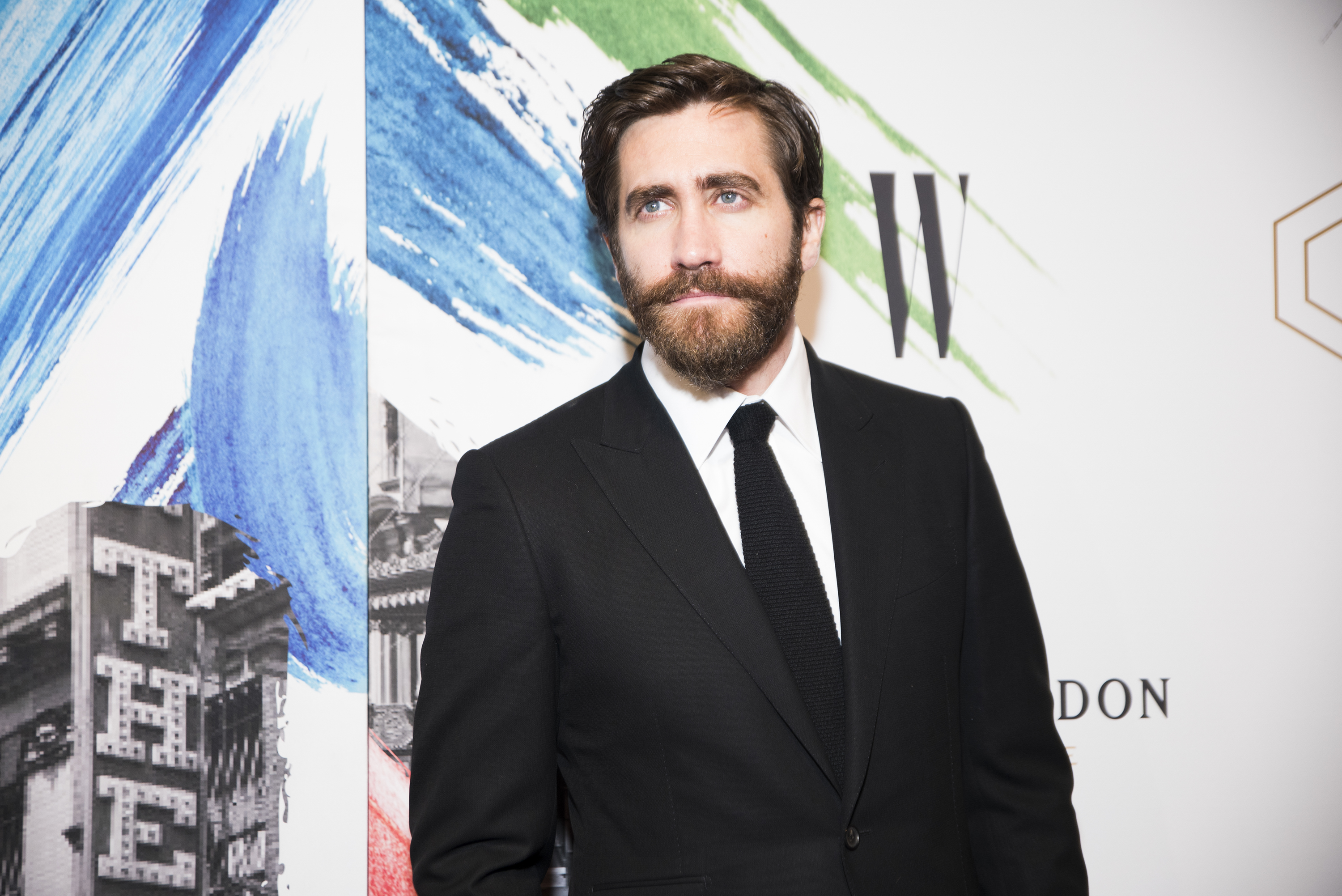 Jake Gyllenhaal attends 'Sunday In The Park With George' opening night at New York Public Library on February 23, 2017 in New York City.