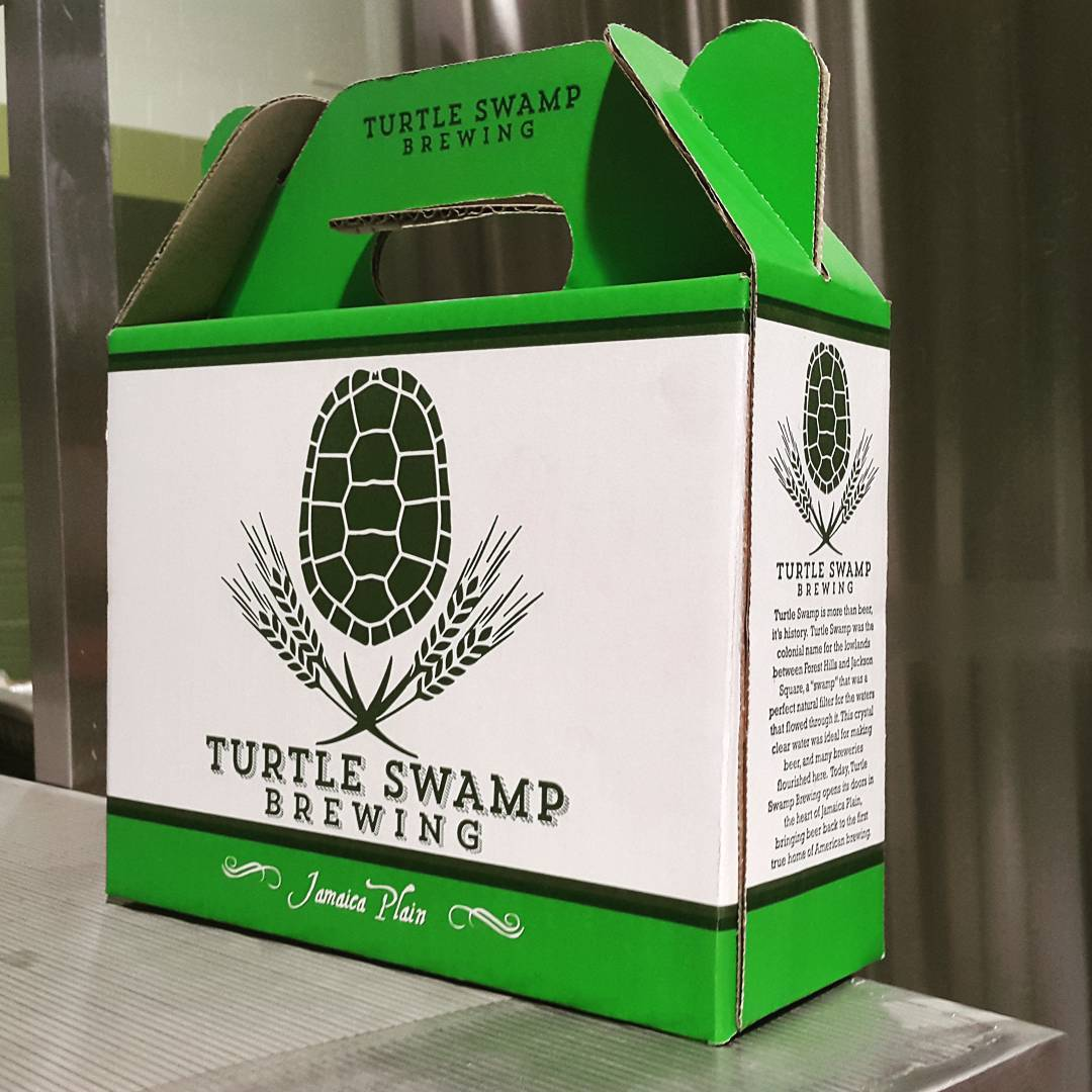 Turtle Swamp Brewing can box