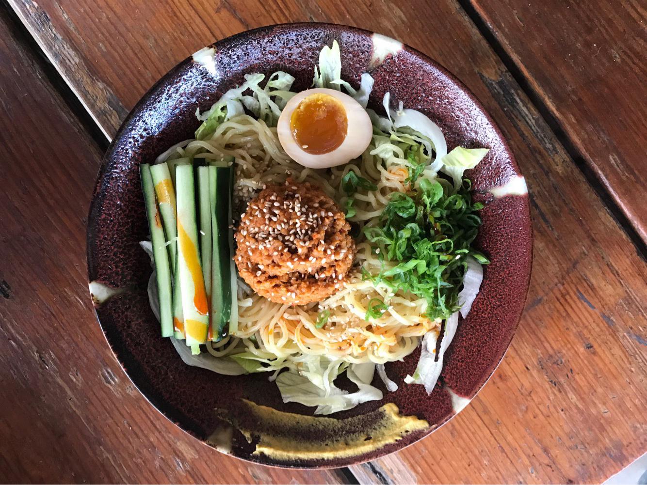 Ramen Tatsu-ya's chilled ramen