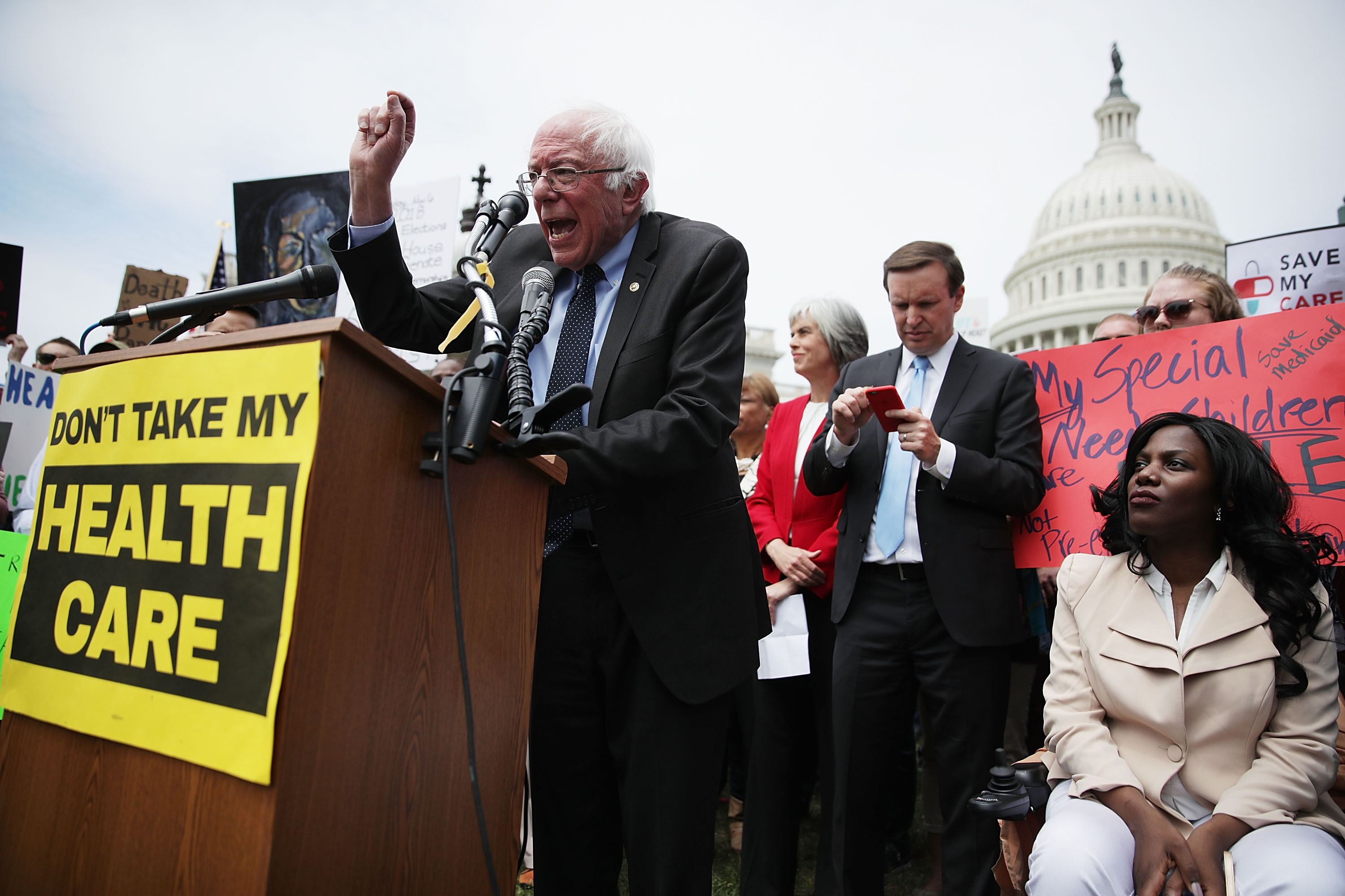 """""""I've never seen anything like this"""": progressives see huge donation spike after AHCA vote"""
