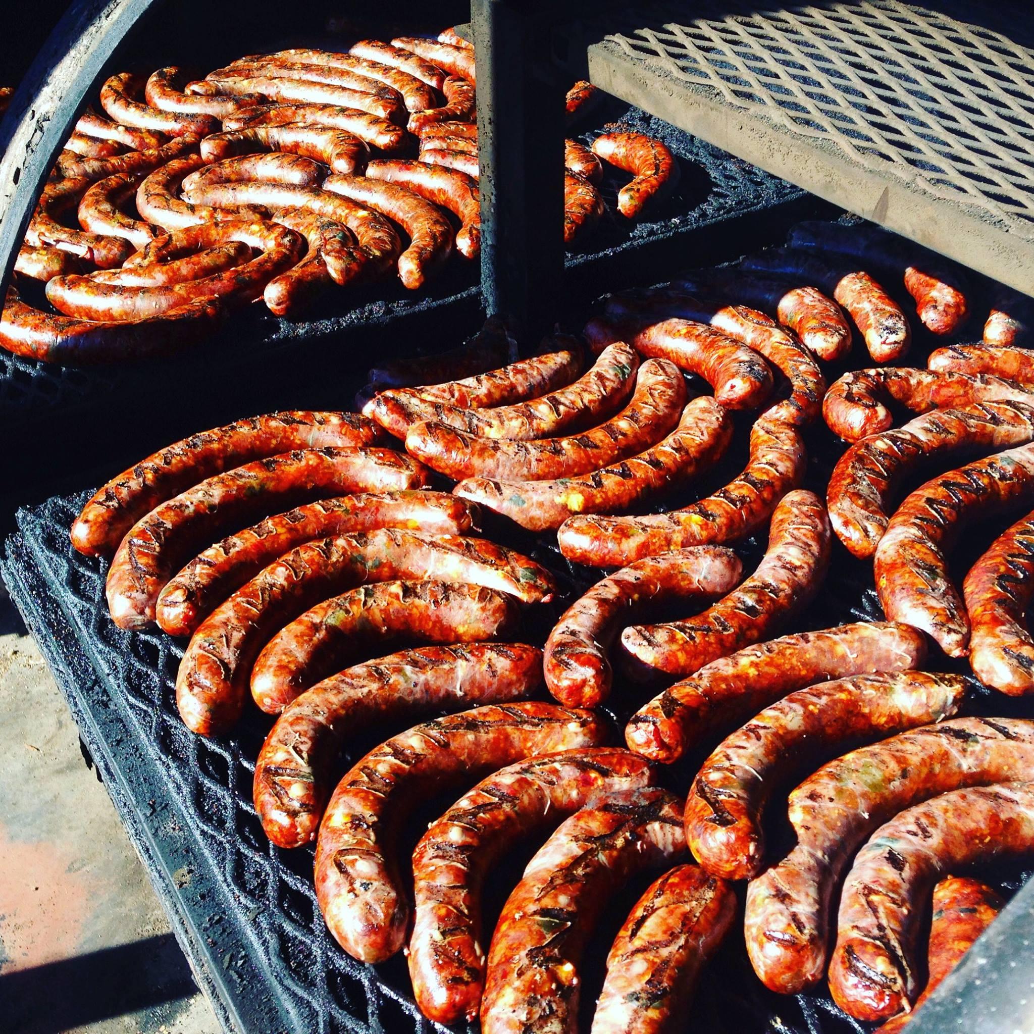 Smokey Denmark's sausages