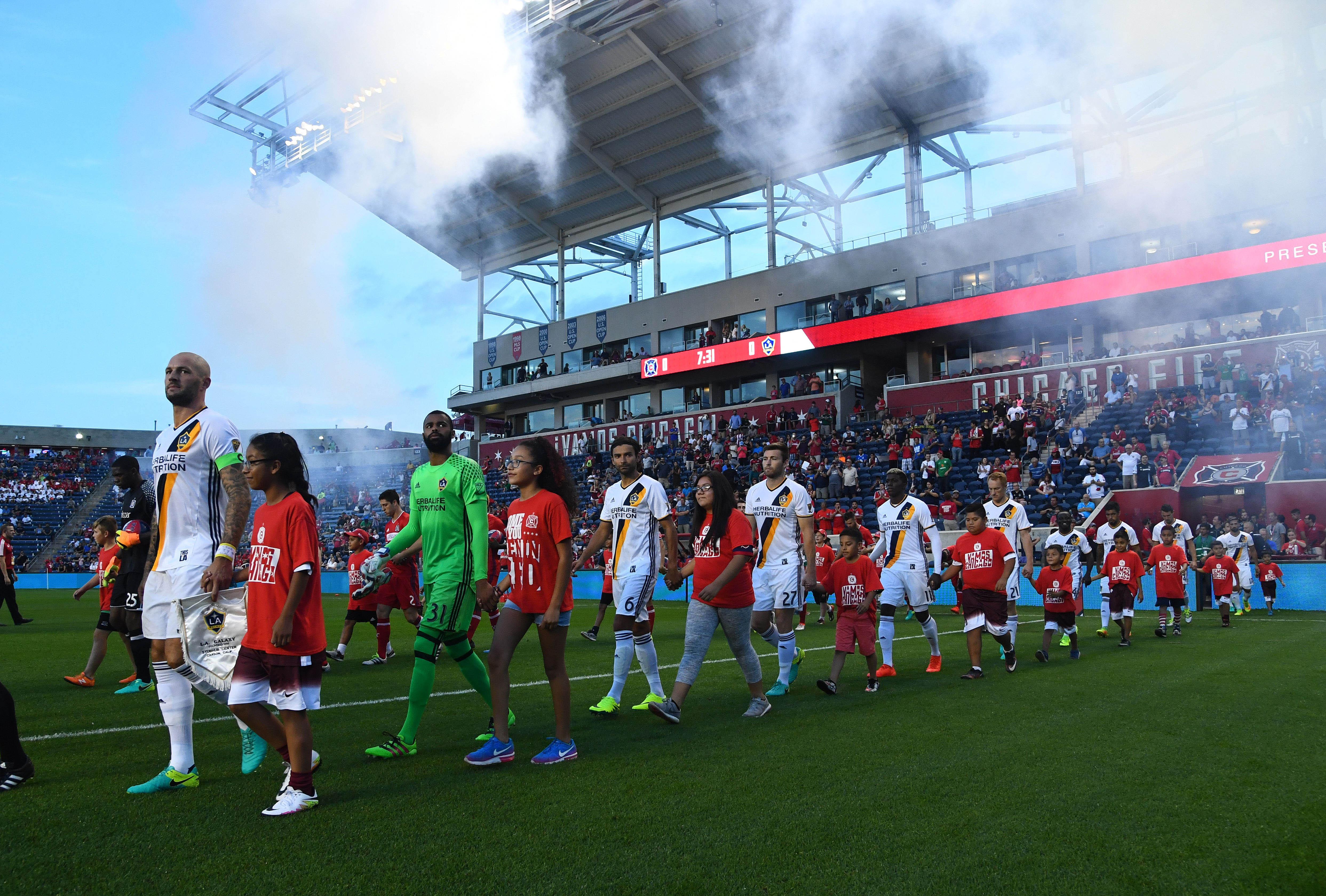 MLS: LA Galaxy at Chicago Fire