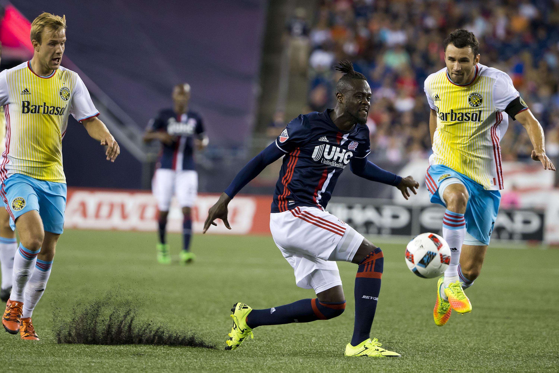 MLS: Columbus Crew SC at New England Revolution