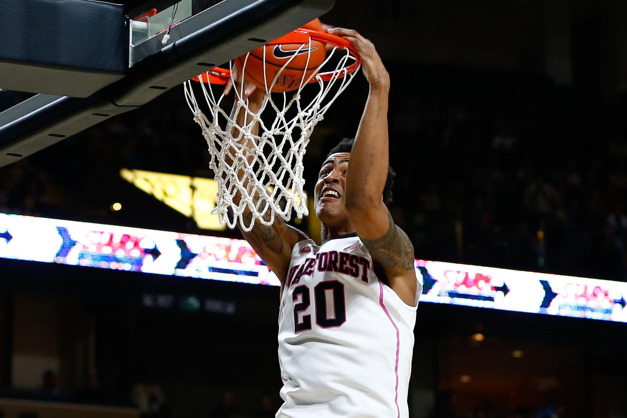 NCAA Basketball: North Carolina State at Wake Forest