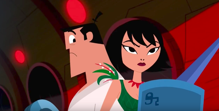 Samurai Jack introduces a new romance with some more adult humor