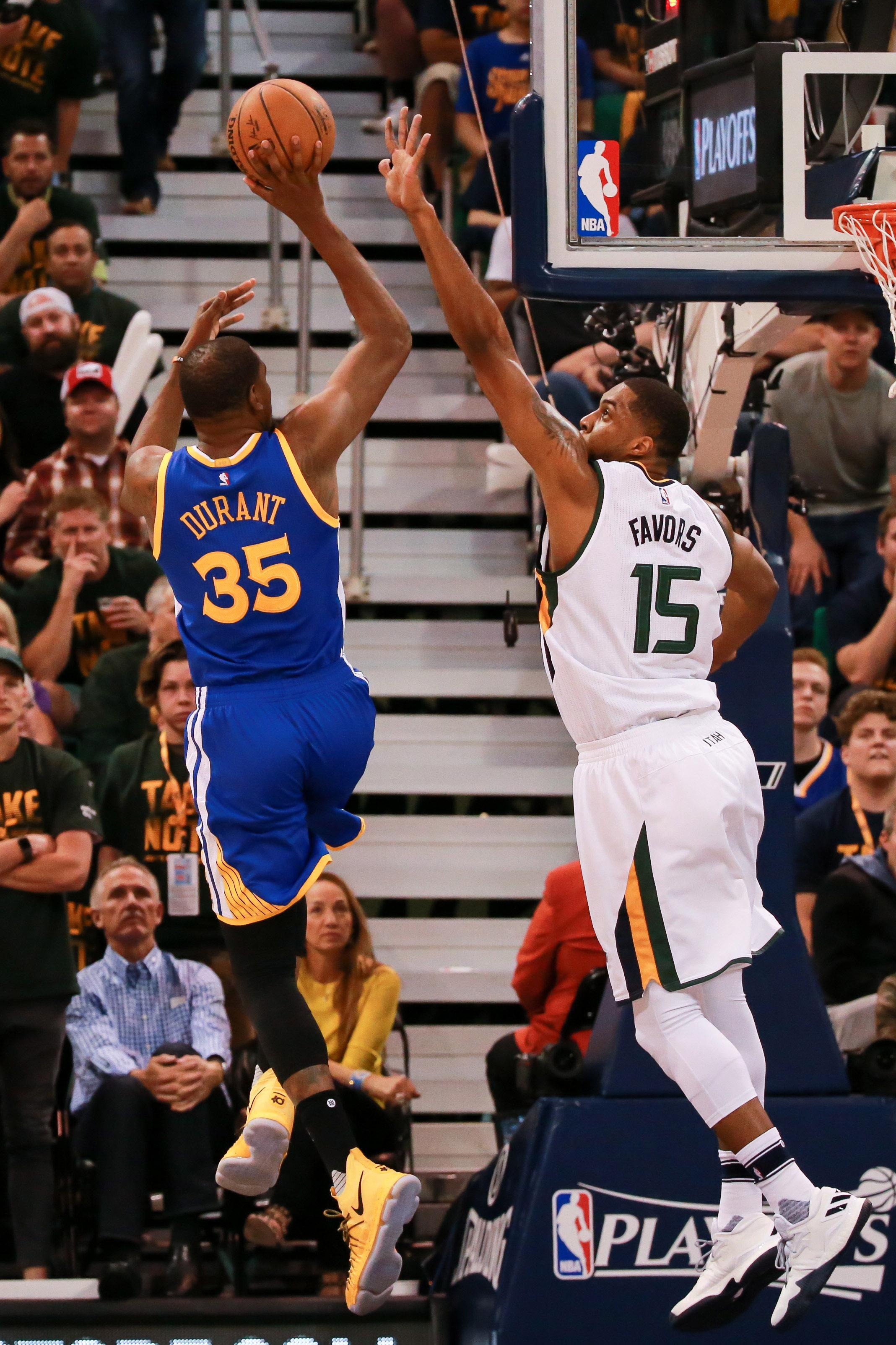 NBA: Playoffs-Golden State Warriors at Utah Jazz