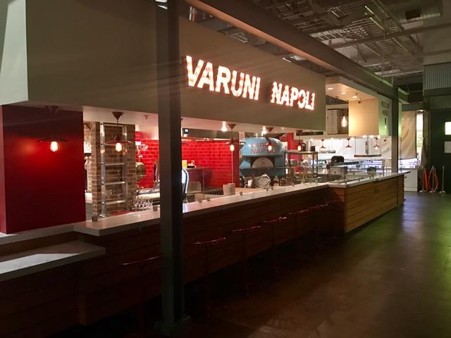The Varuni Napoli stall at Krog Street Market