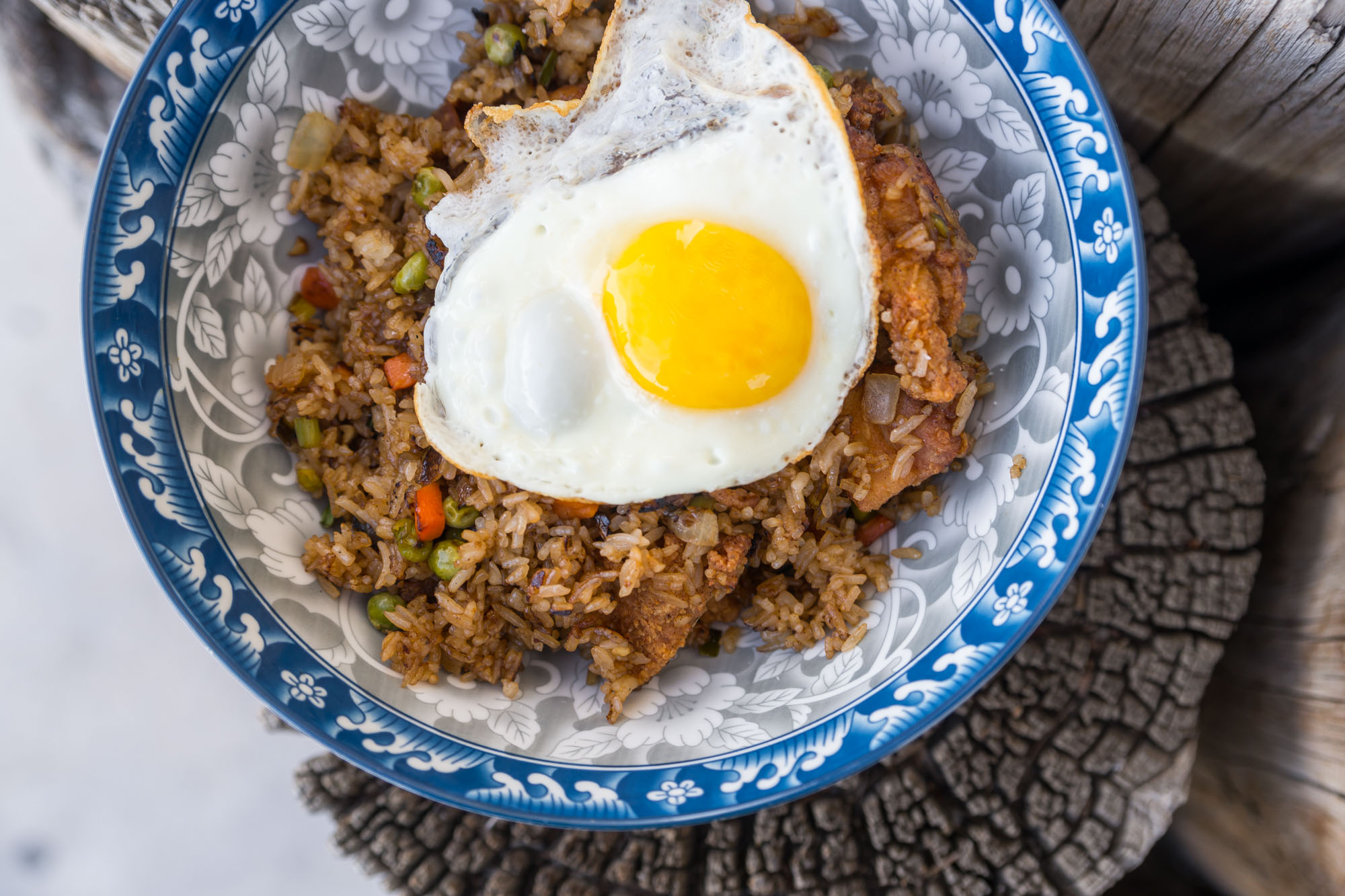 Fried chicken fried rice st Starboard Tack