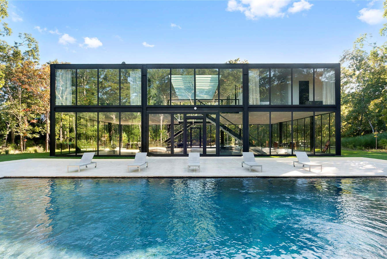 Glass block house in Springs is now under $5M