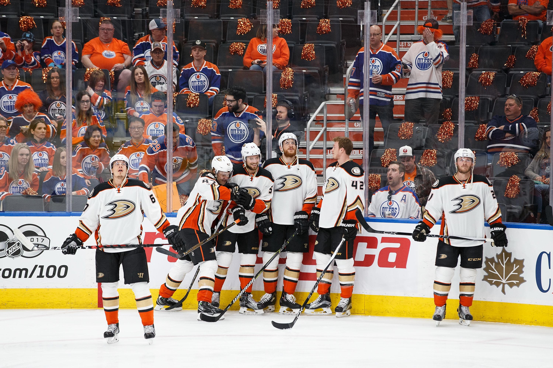 Anaheim Ducks v Edmonton Oilers - Game Six