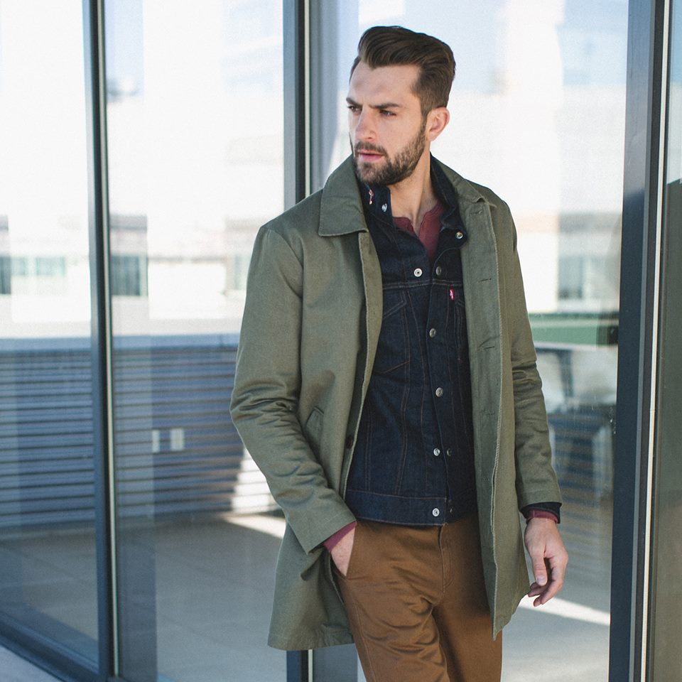 Man in JackThreads clothing