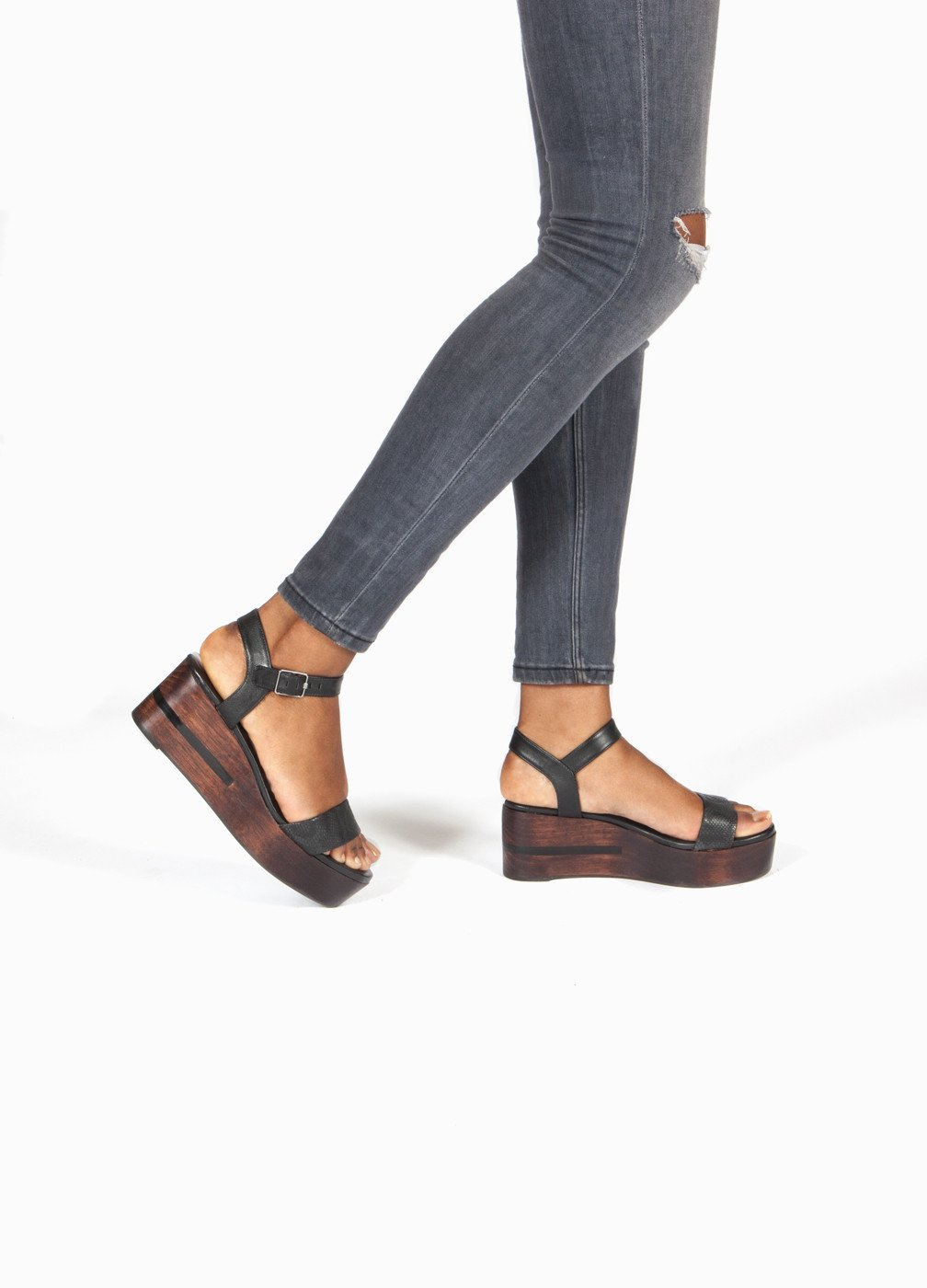 Platform Sandals Are Very Much a Thing Again