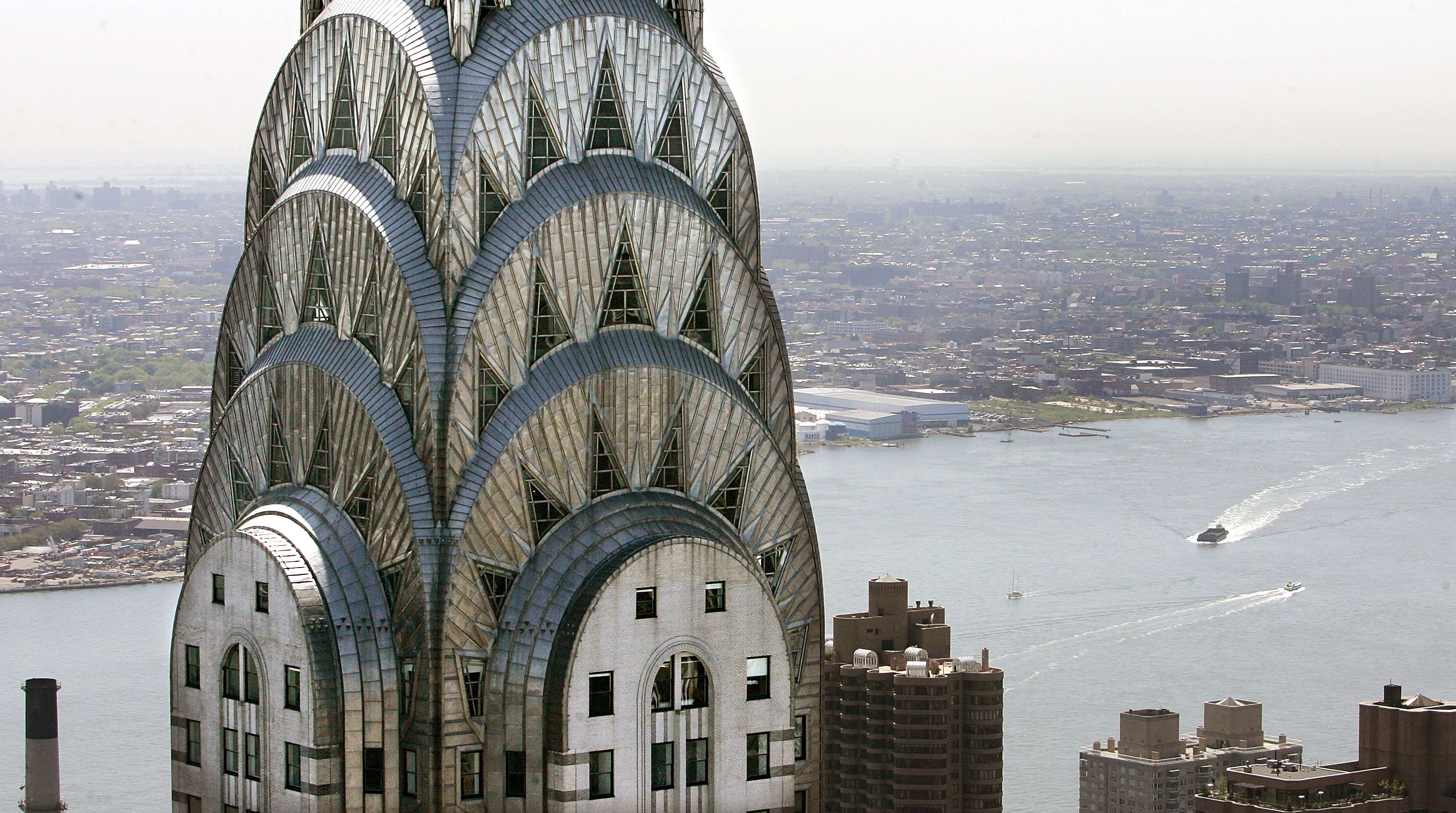 Chrysler Building Curbed Ny