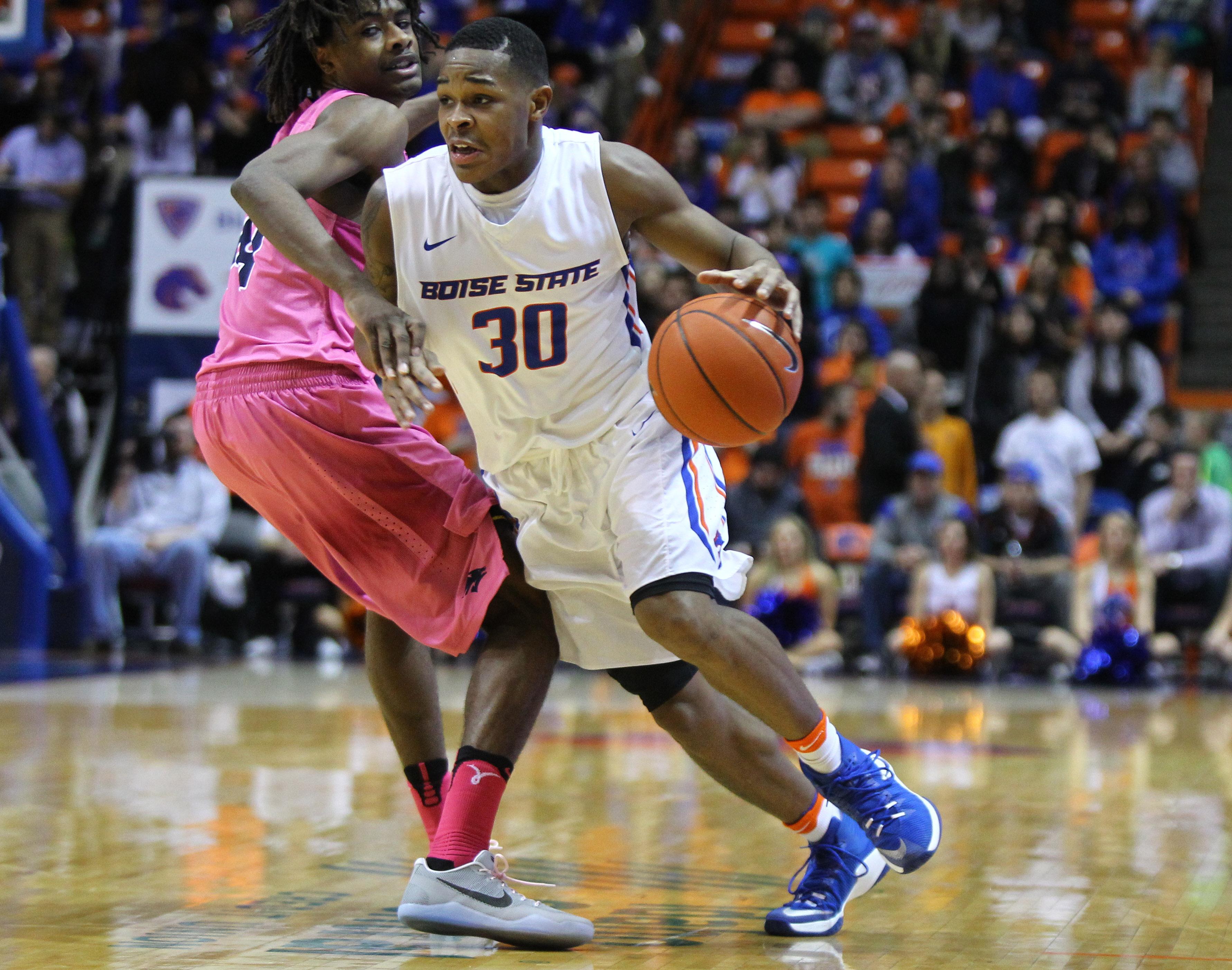 NCAA Basketball: Nevada at Boise State