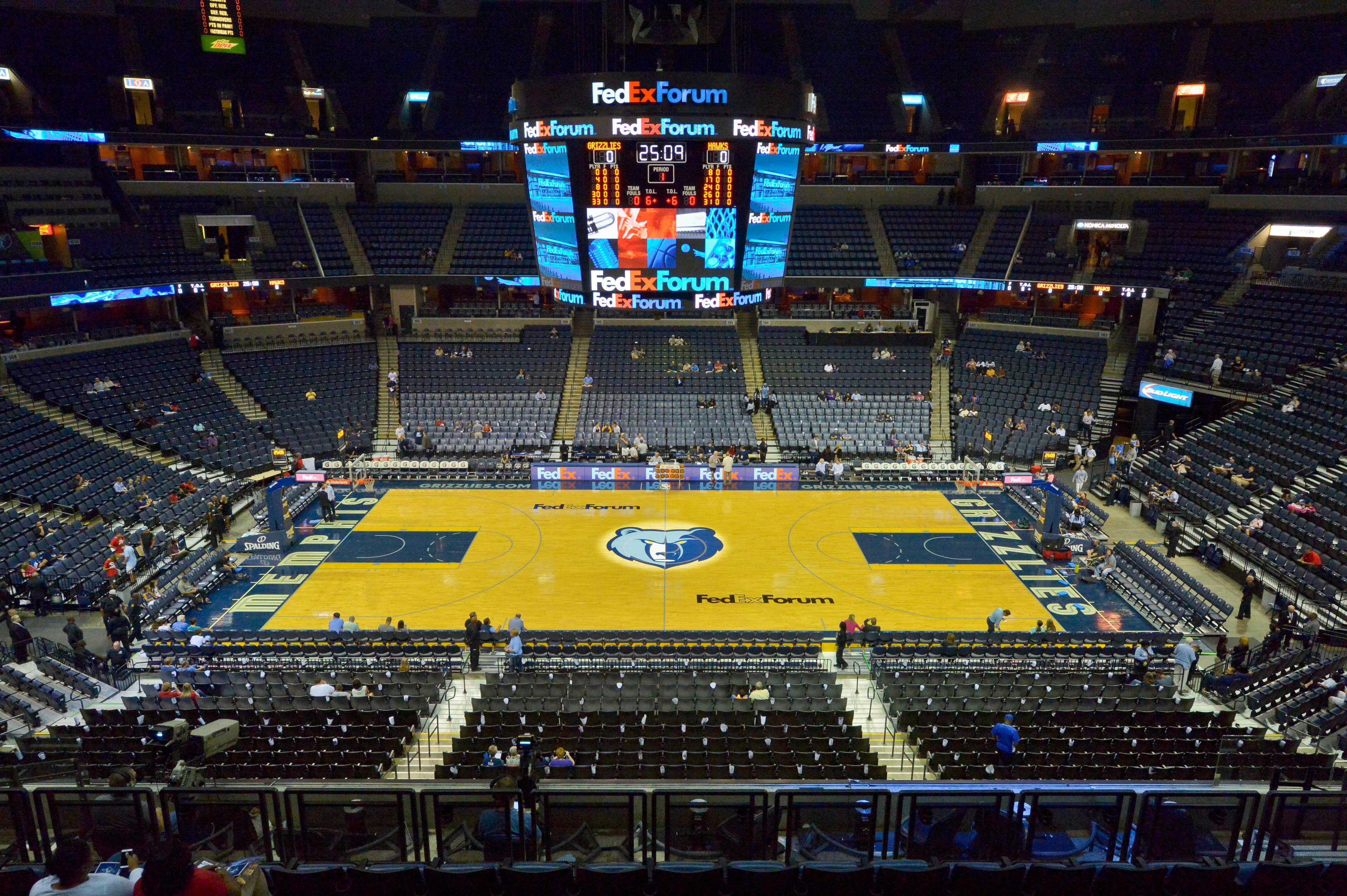 NBA: Preseason-Atlanta Hawks at Memphis Grizzlies