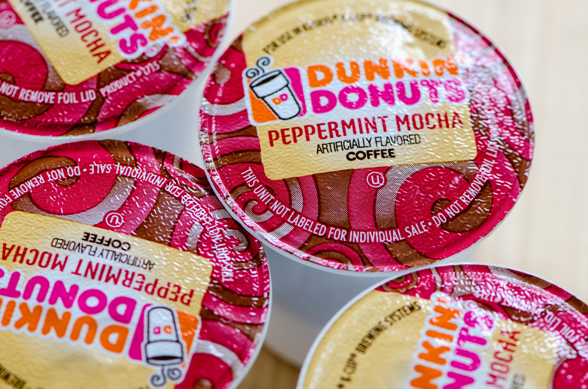 Dunkin' Donuts K-cups.