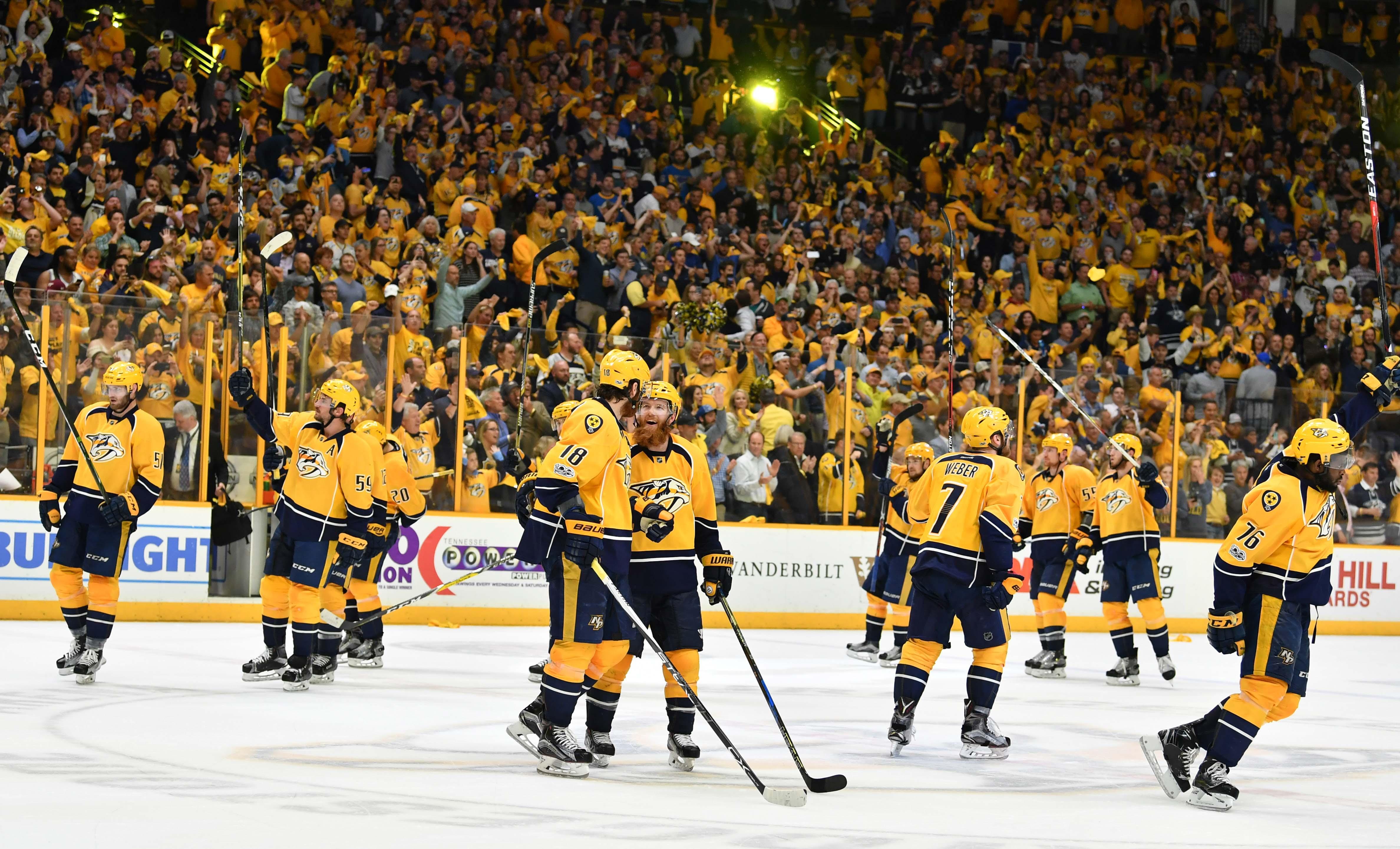 NHL: Stanley Cup Playoffs-St. Louis Blues at Nashville Predators