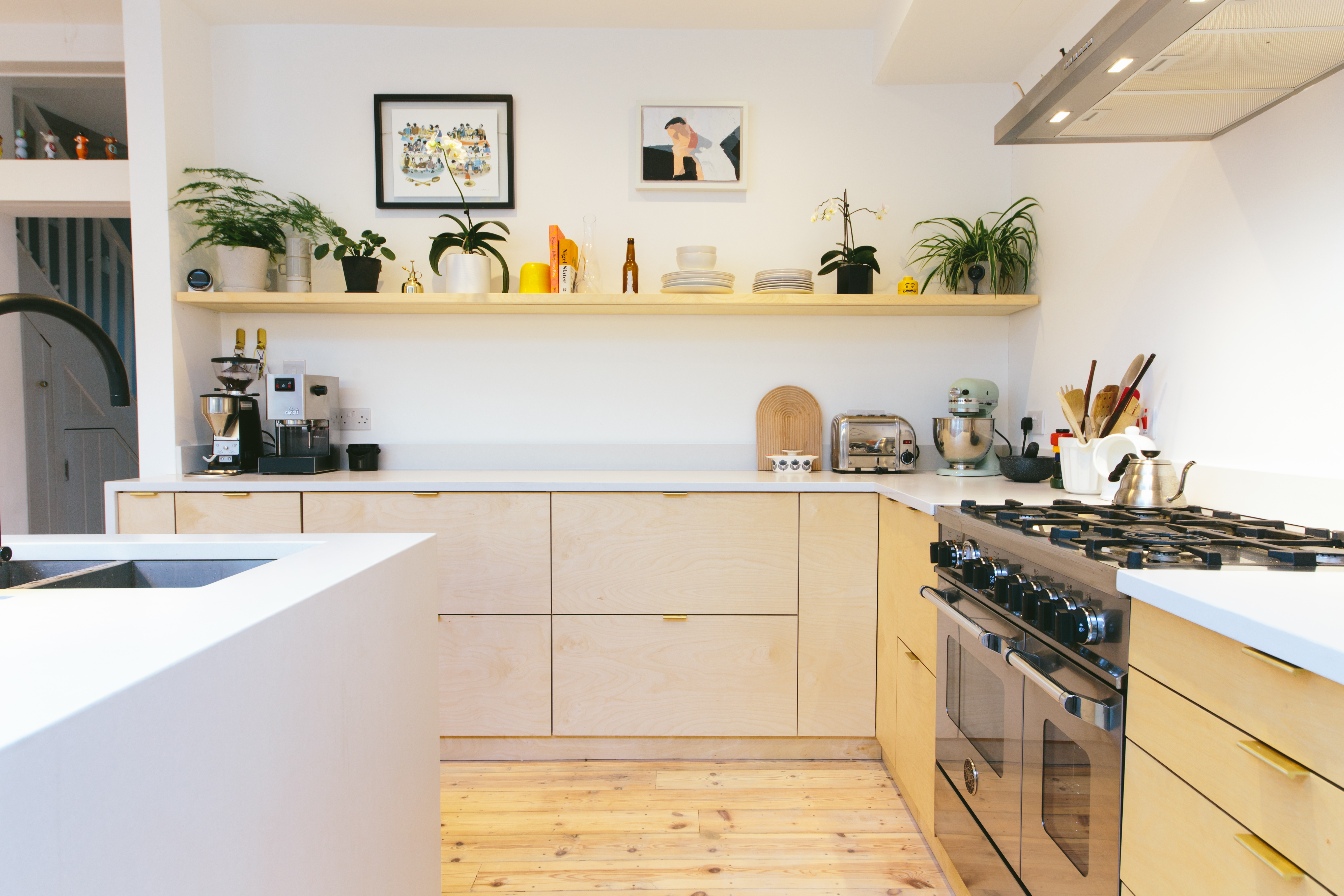 Ikea kitchen cabinets hacked with plywood by new company Plykea