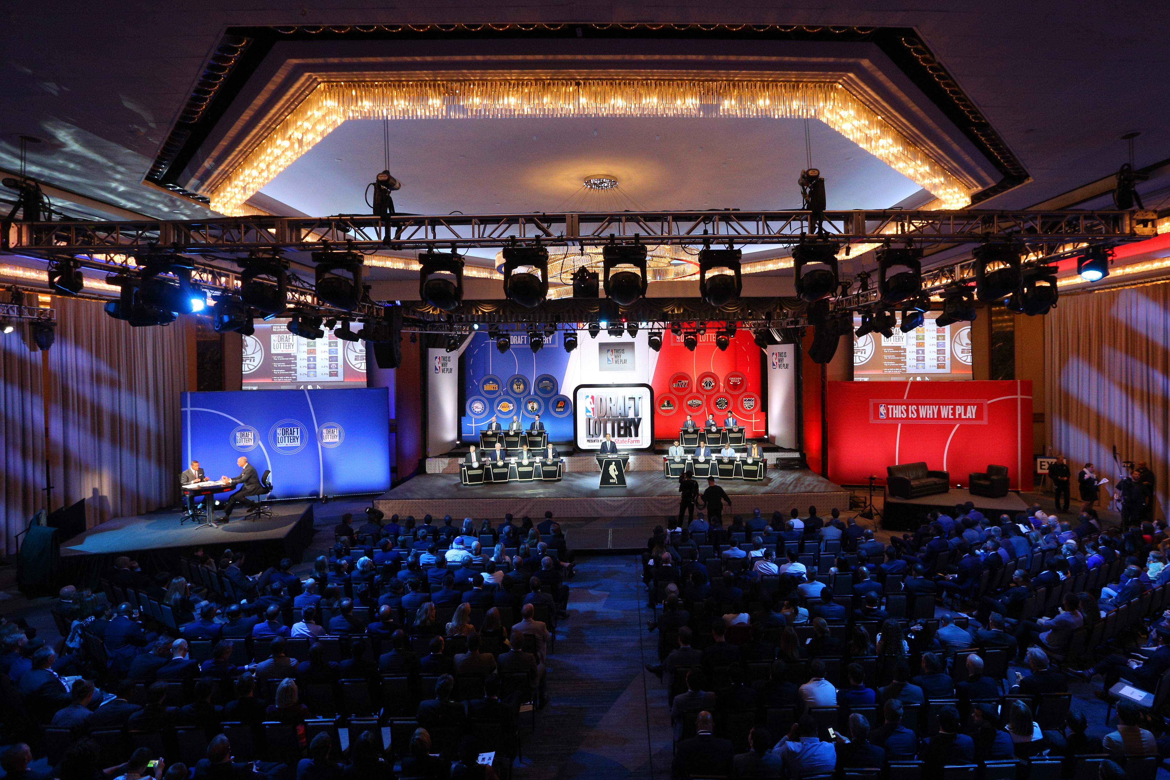 NBA: NBA Draft Lottery