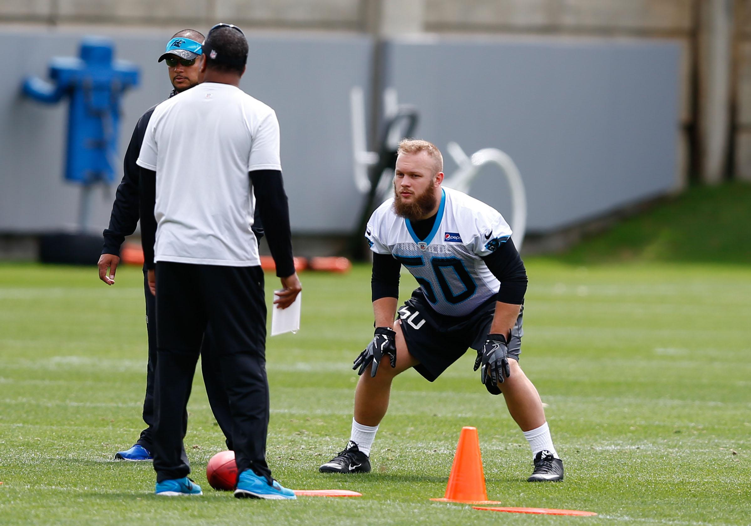 NFL: Carolina Panthers-Rookie Minicamp