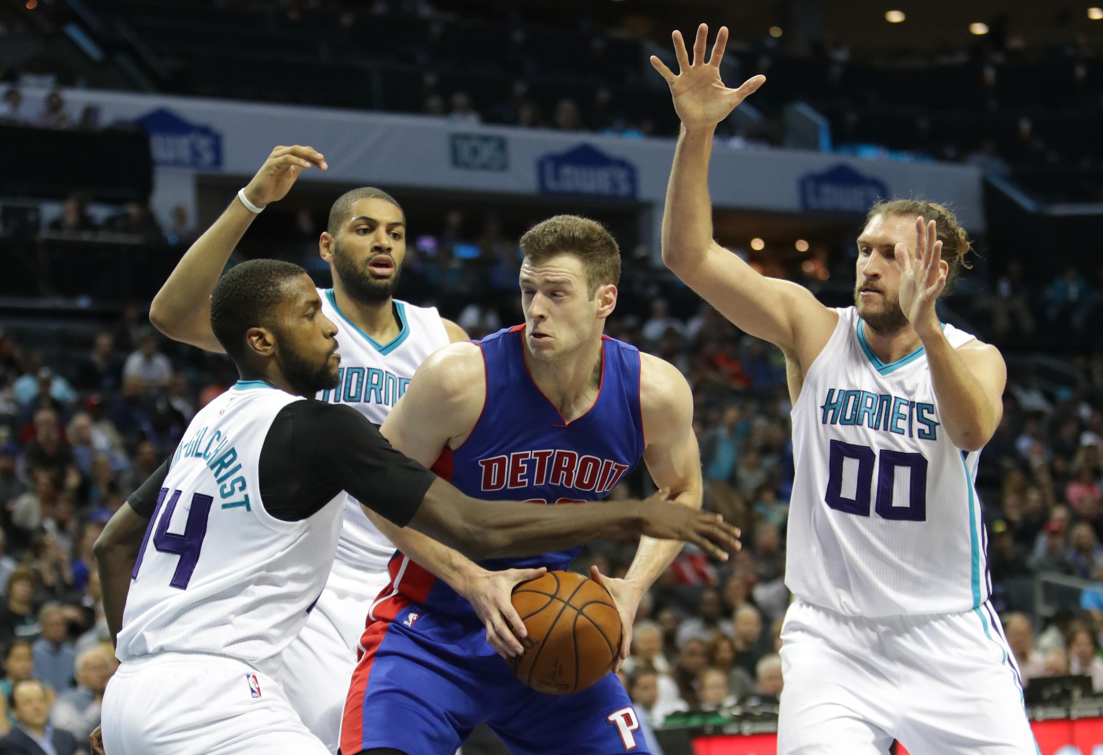 Detroit Pistons v Charlotte Hornets