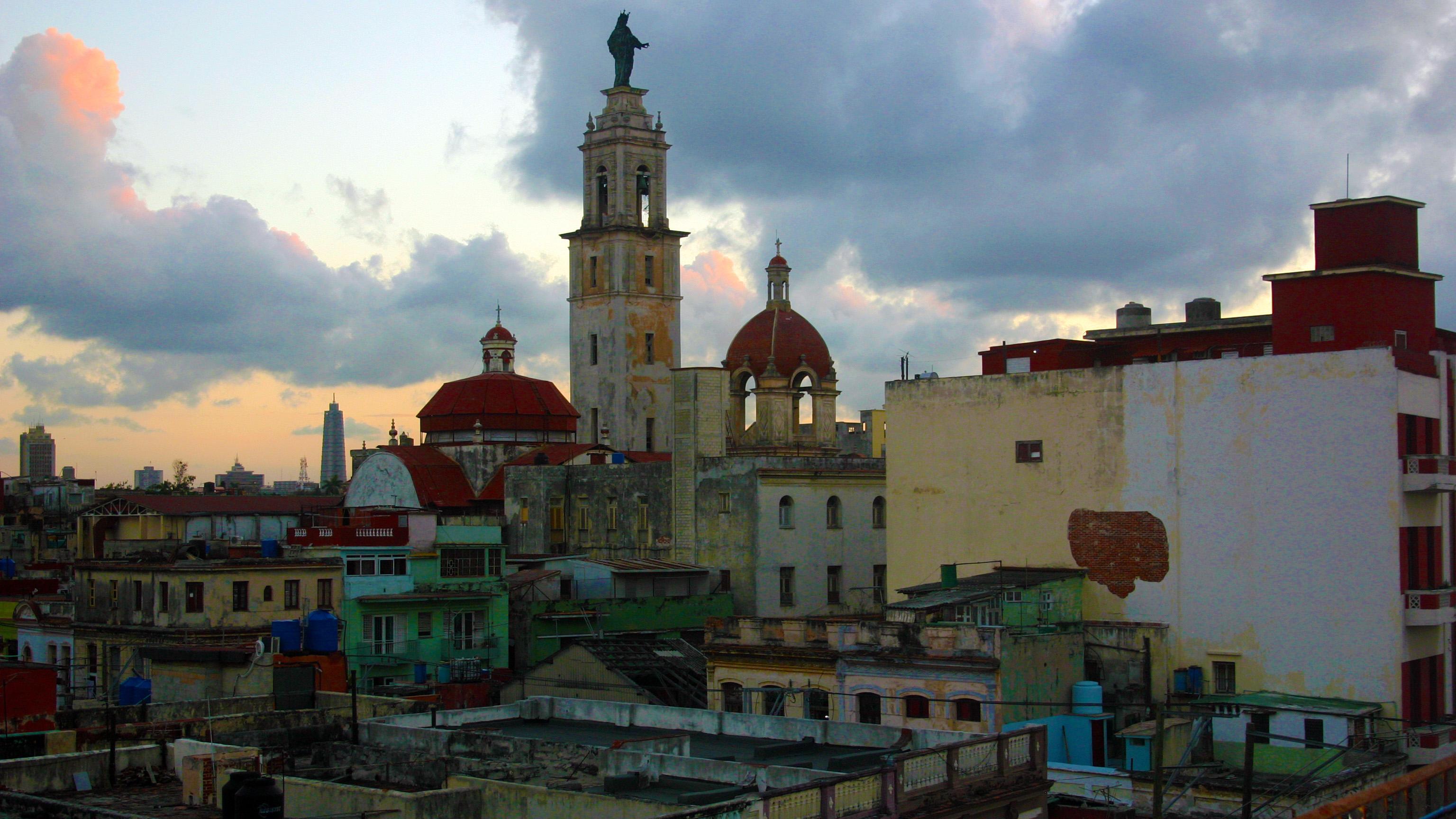 A view of Havana's sprawl