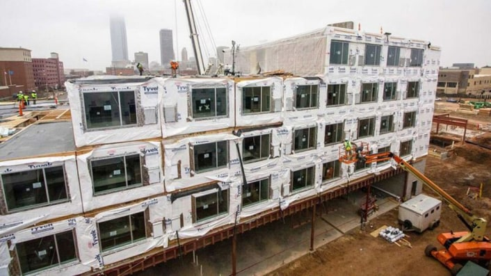 Even Marriott Hotels Are Going Prefab