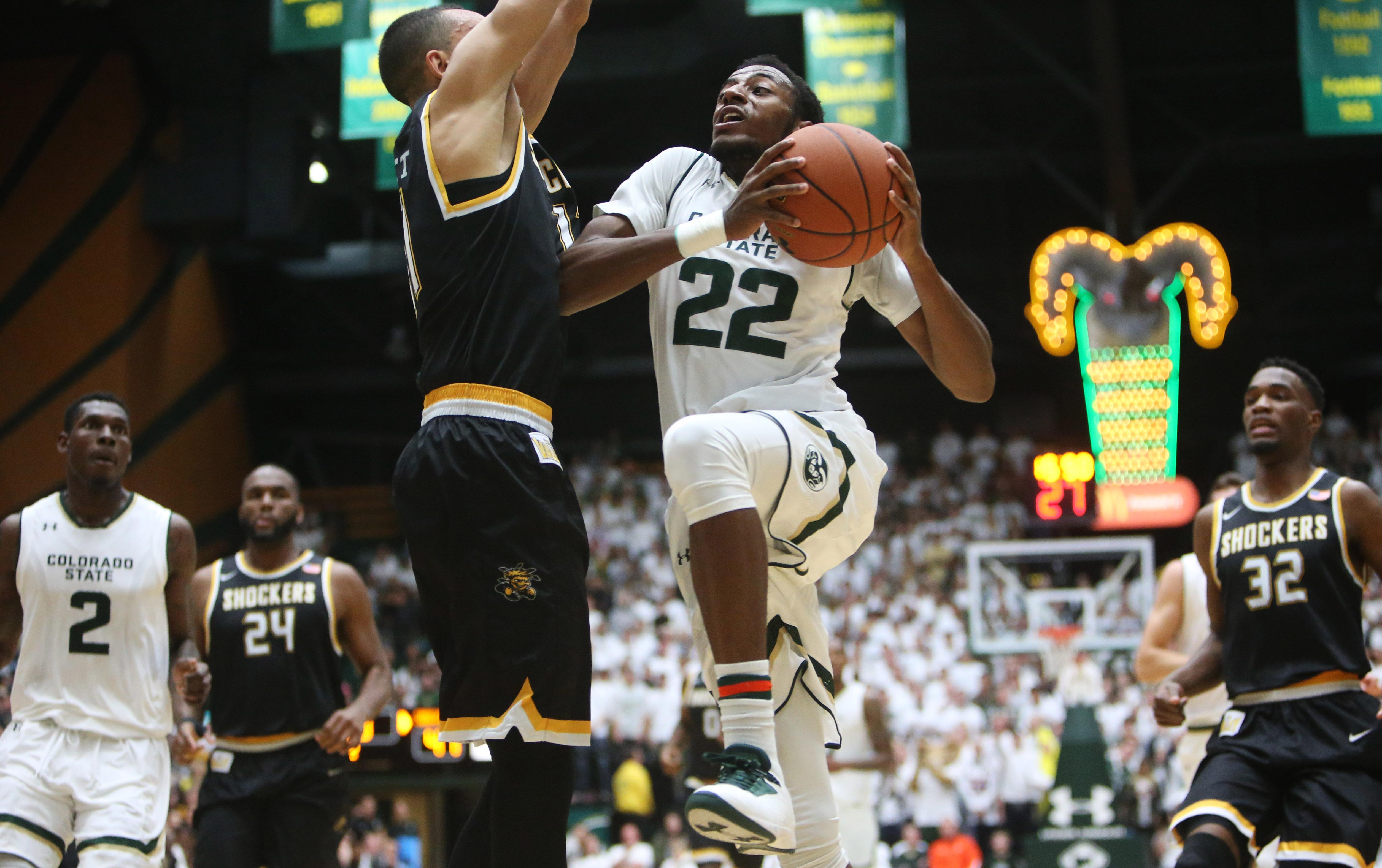 NCAA Basketball: Wichita State at Colorado State