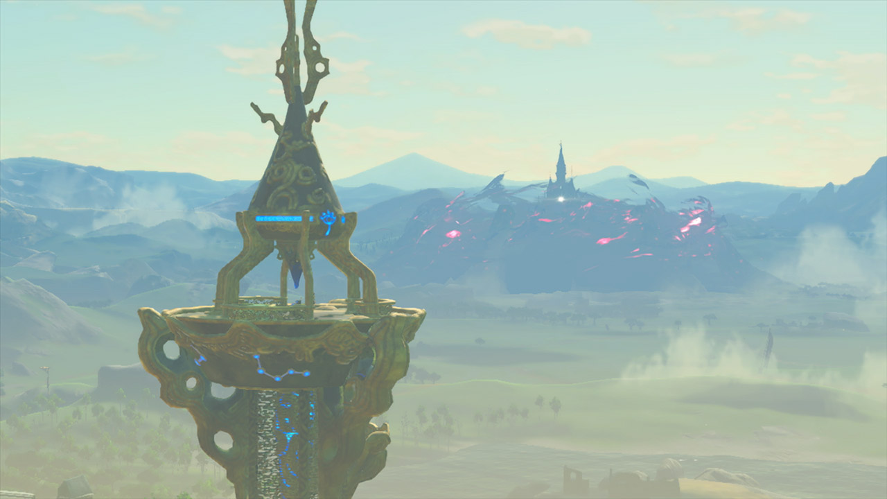 Climbing towers in Breath of the Wild is way more stylish with this trick