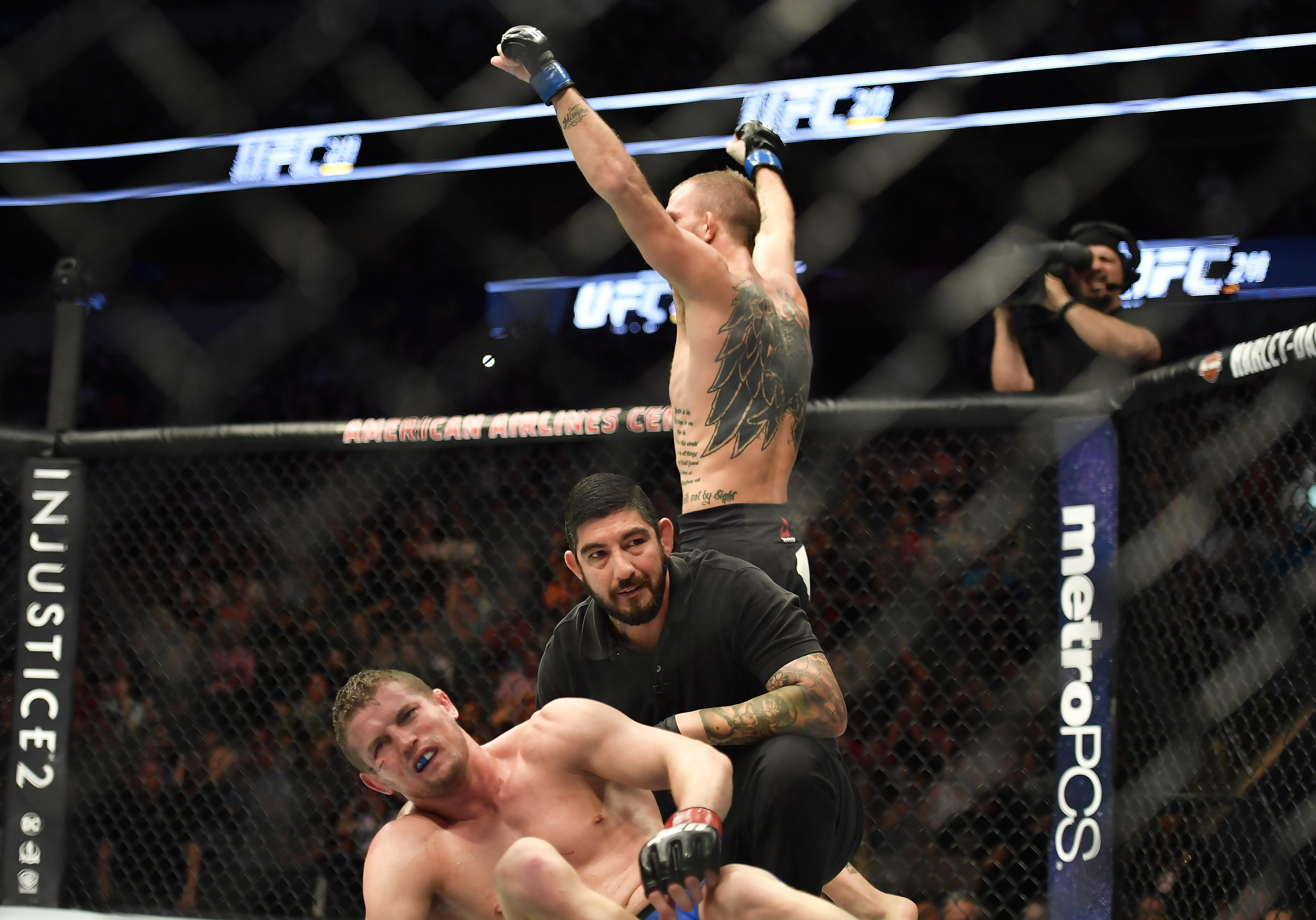MMA: UFC 211-Skelly vs Knight