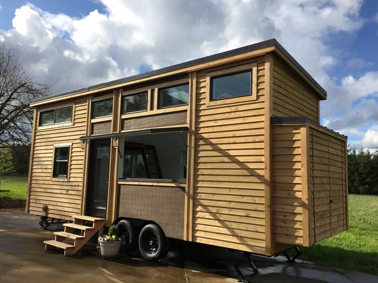 Tiny Mobile Houses tiny house vs camping trailer This Tiny House Comes Tricked Out With Smart Home Features