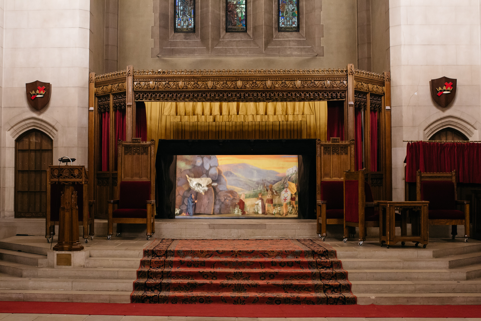 Photos: Behind the scenes at the Masonic Temple - Curbed Detroit