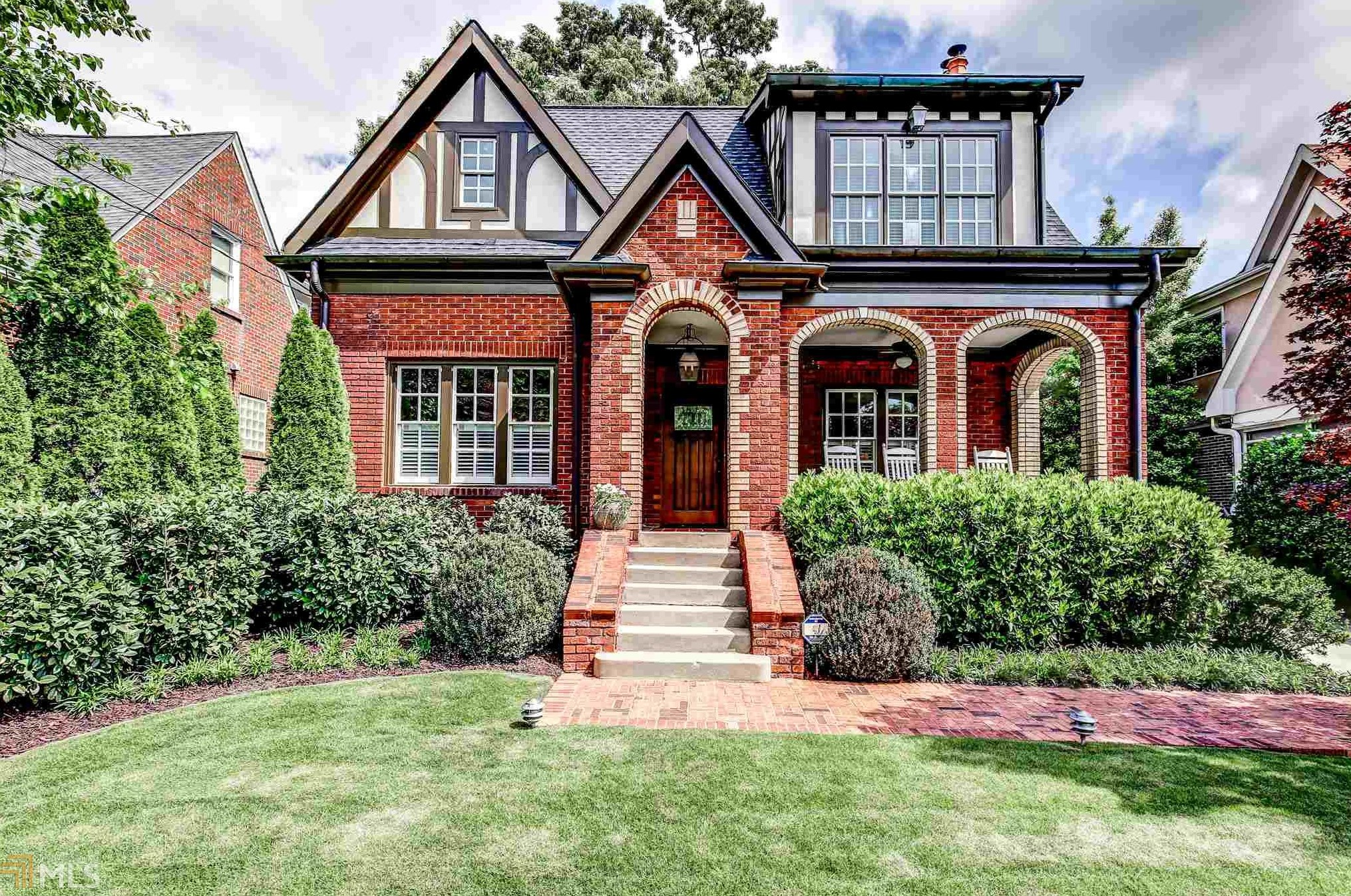 In Virginia Highland 1929 Tudor Has Gorgeous Curb Appeal 12M Price