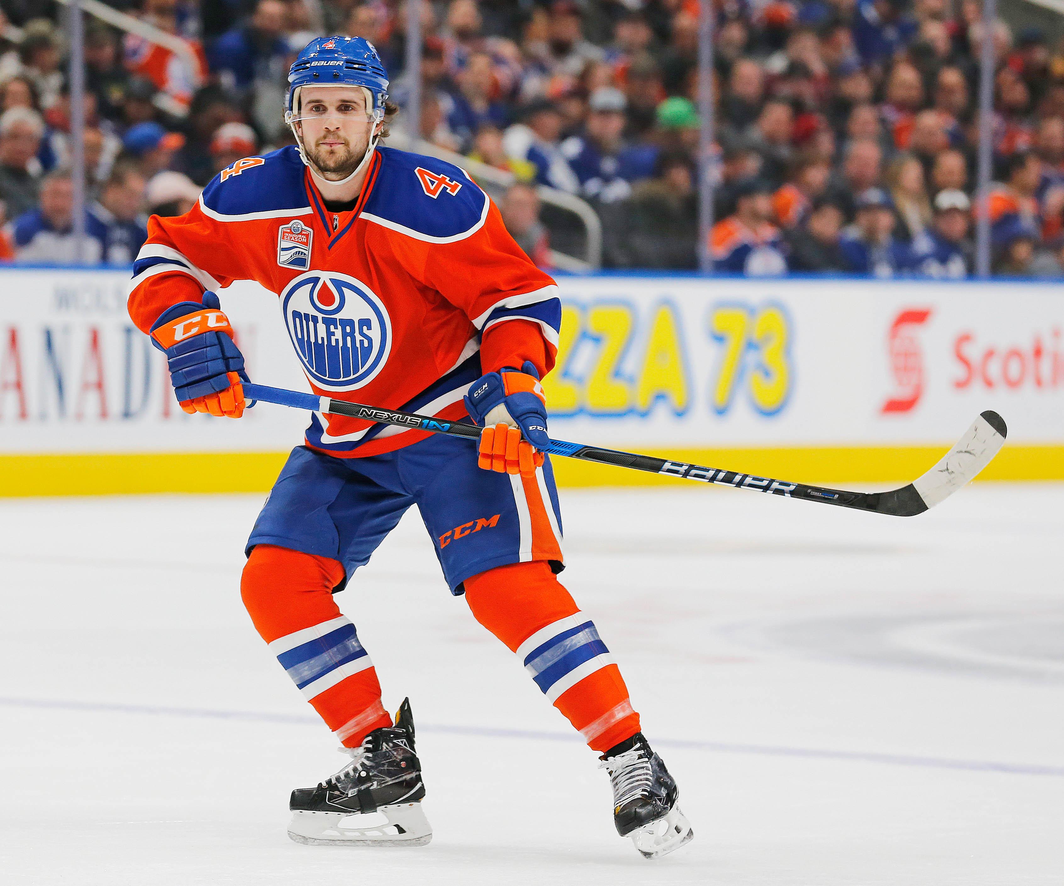 NHL: Toronto Maple Leafs at Edmonton Oilers