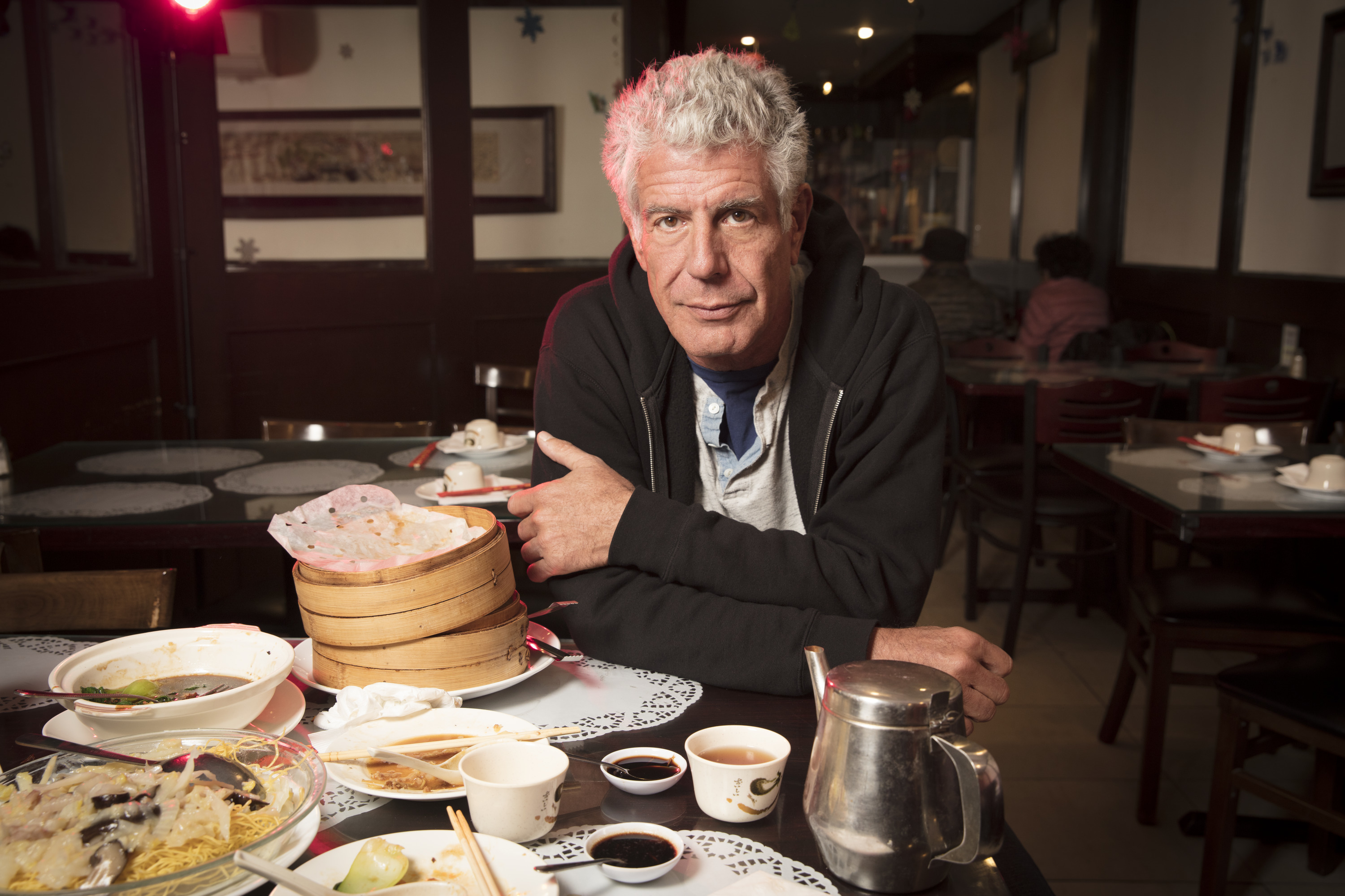 Bourdain on Queens: 'This is a Wonderland' Because of Street Food