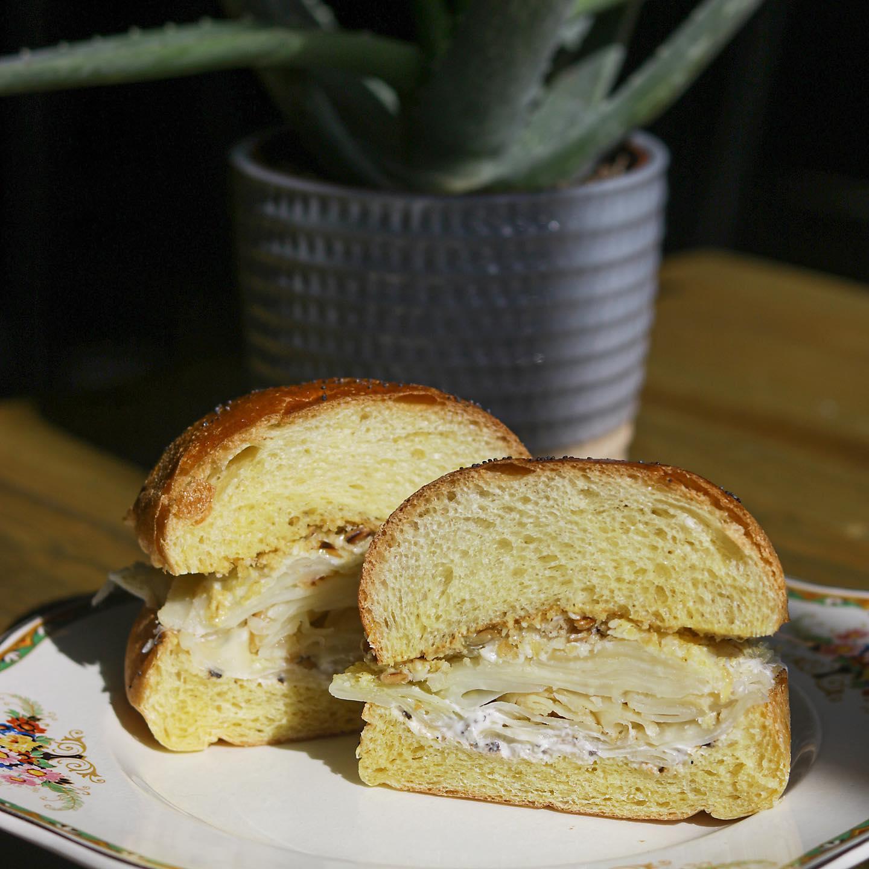 celery root sandwich