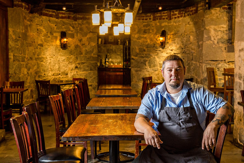 Terry Koval at Wrecking Bar Brewpub.