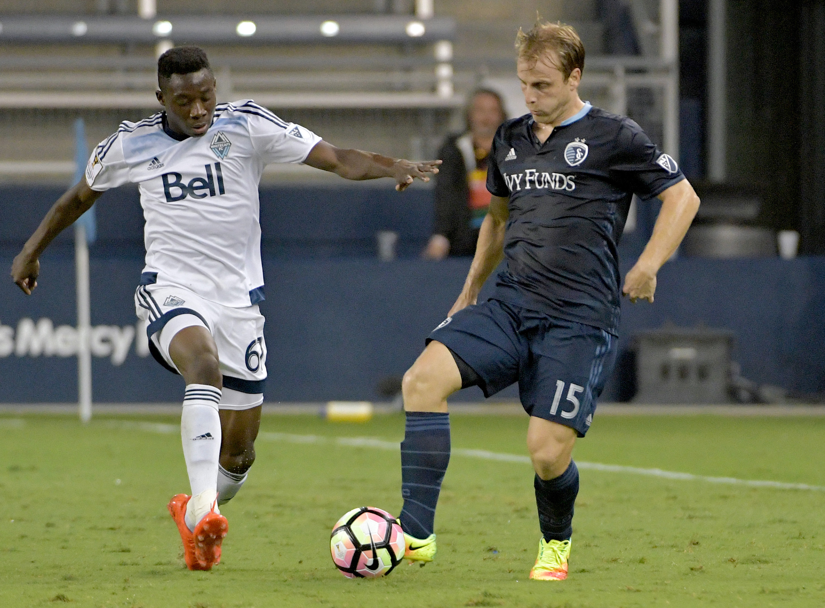 MLS: CONCACAF Champions League-Vancouver Whitecaps FC at Sporting Kansas City